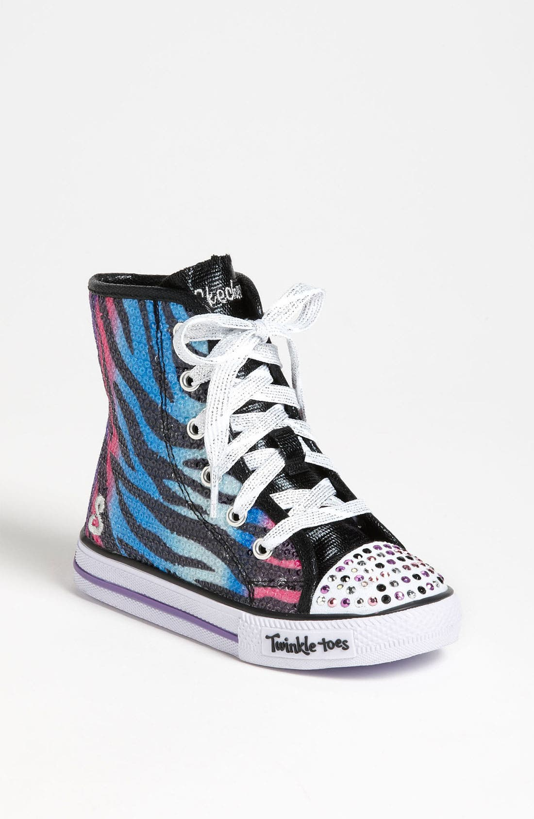 Main Image - SKECHERS 'Shuffles - Notorious' Light Up Sneaker (Walker & Toddler)