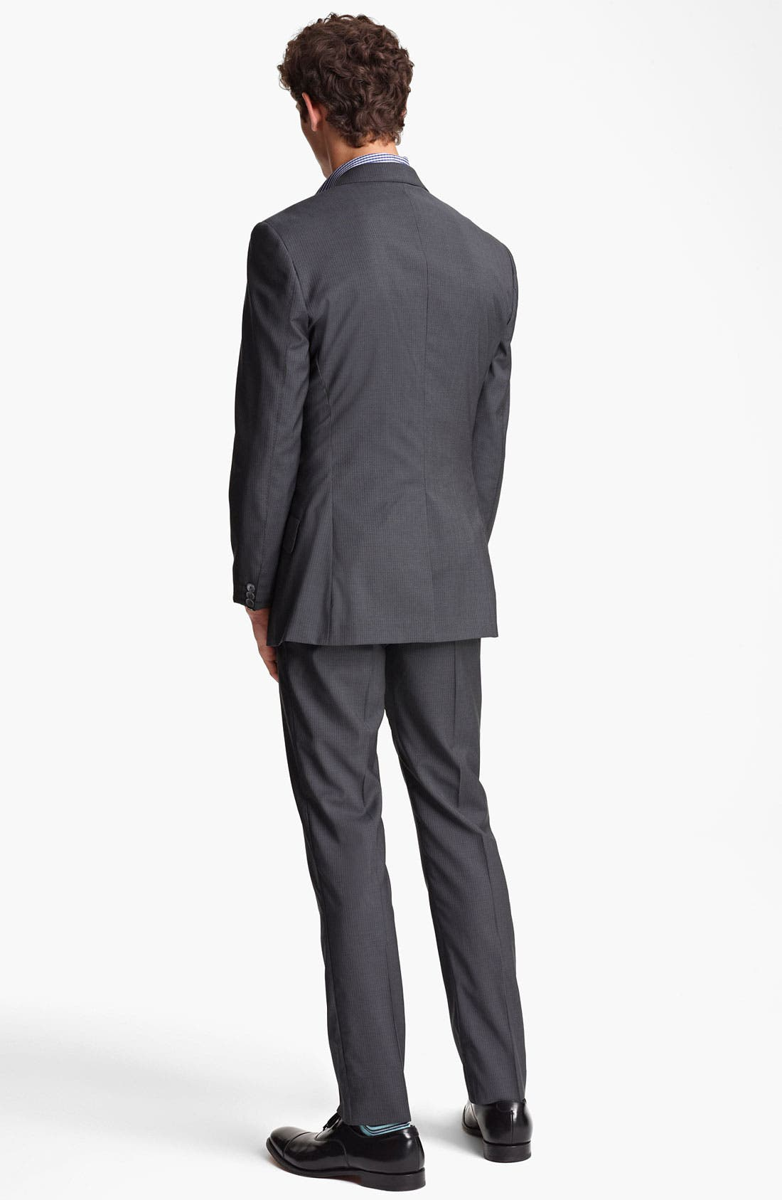 Alternate Image 3  - Paul Smith London Slim Fit Chalk Stripe Wool Suit