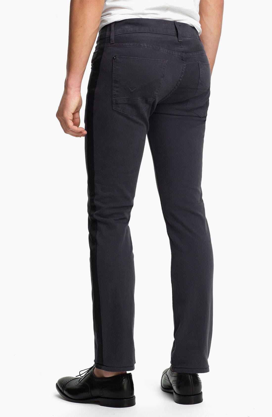 Alternate Image 1 Selected - Hudson Jeans 'Lou Tuxedo' Slim Straight Leg Jeans (Incognito)