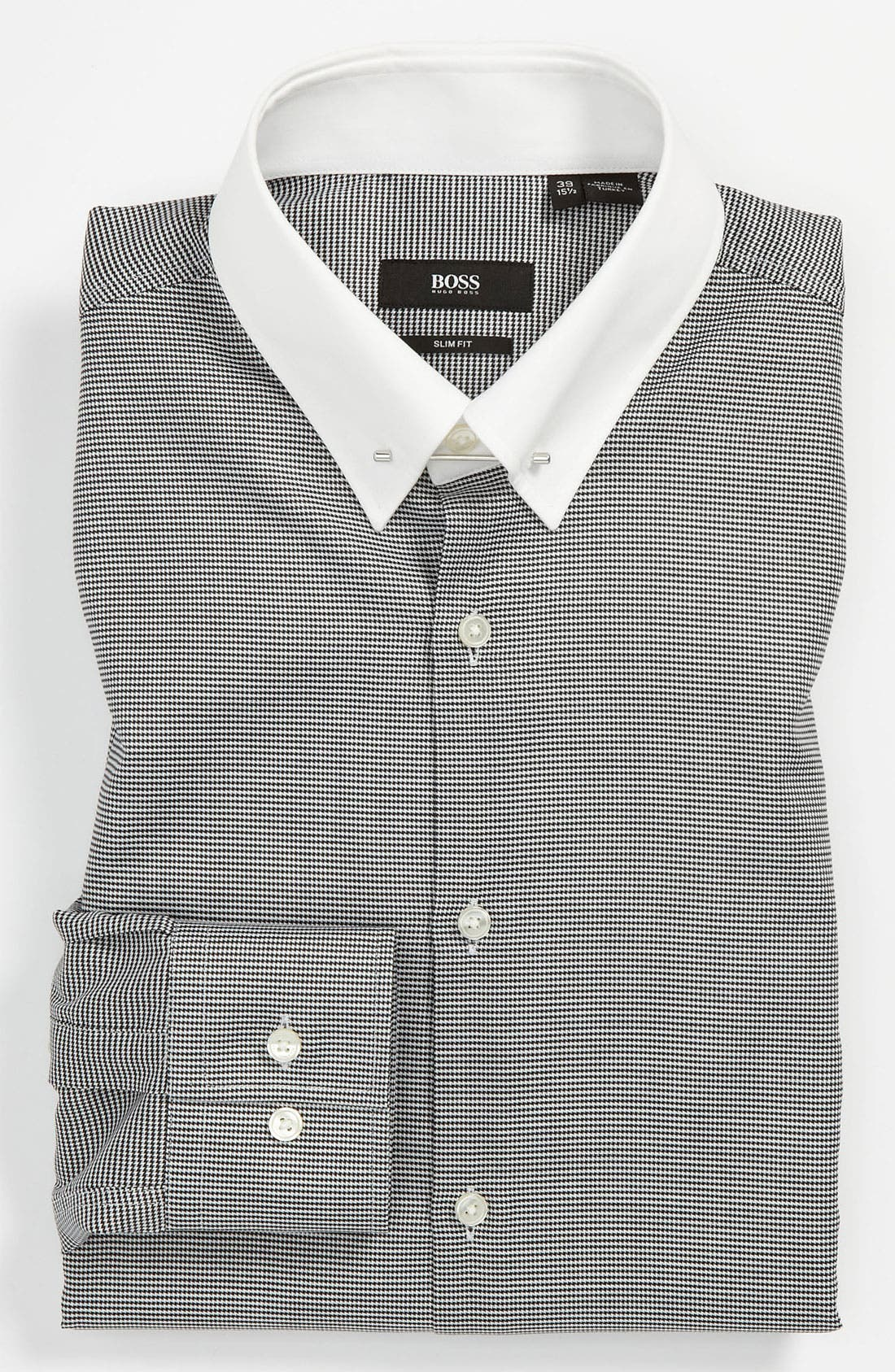 Main Image - BOSS Black Slim Fit Dress Shirt