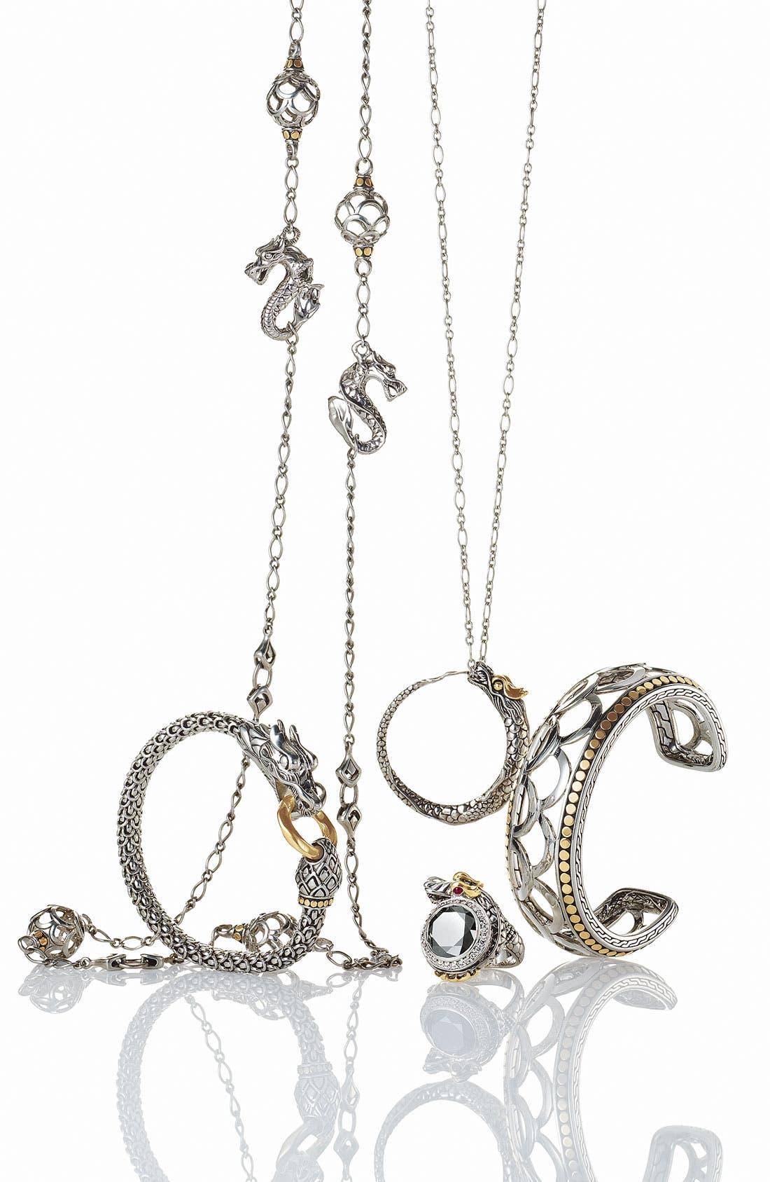Alternate Image 2  - John Hardy 'Naga' Pendant Necklace