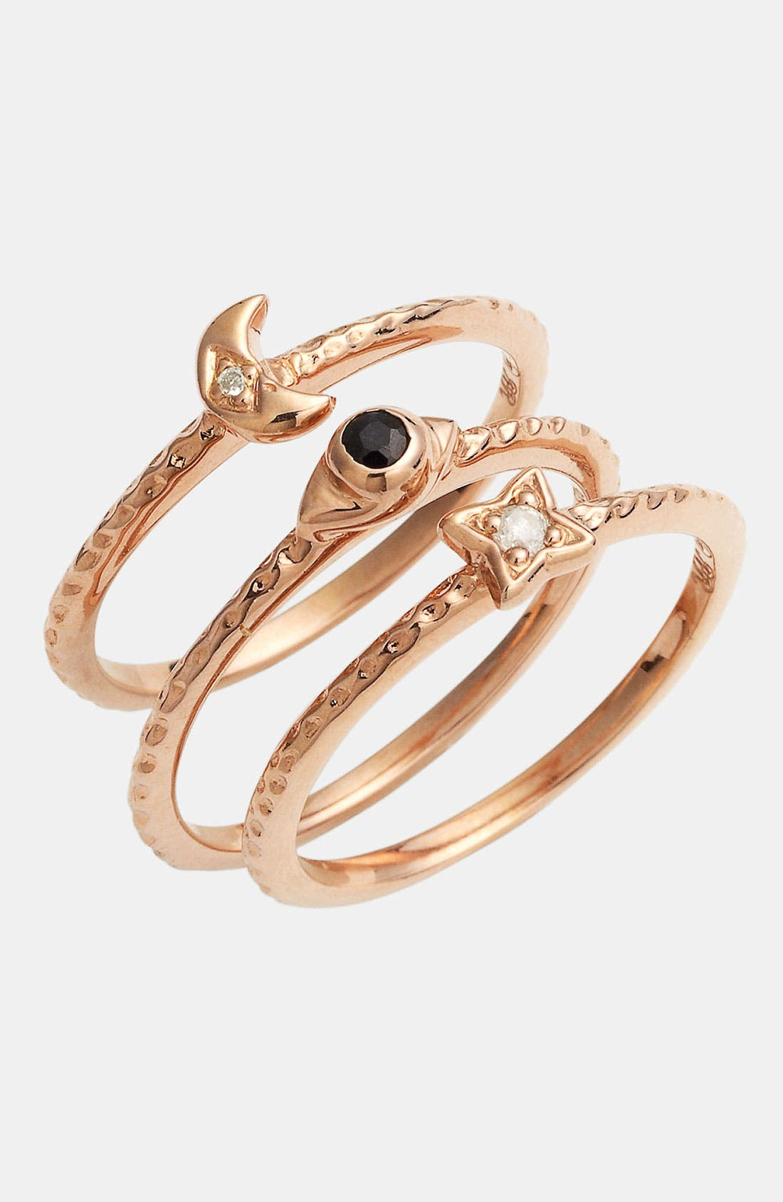 Main Image - Rachel Roy & Deepak Chopra Stackable Rings (Set of 3)