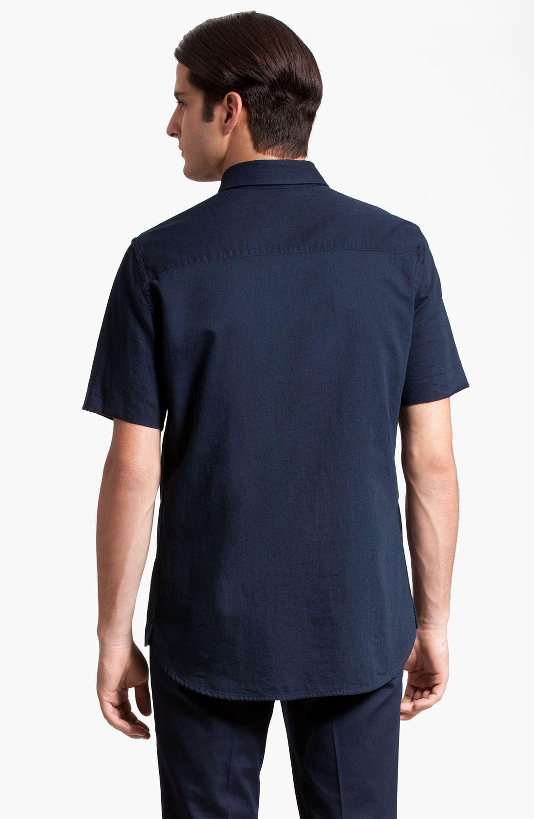 Alternate Image 2  - Marni Short Sleeve Denim Shirt