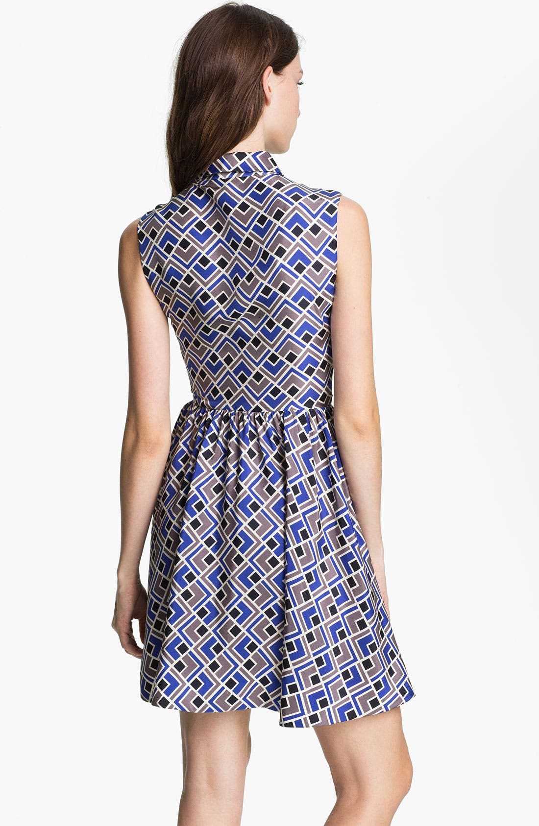 Alternate Image 2  - kate spade new york 'lora' silk fit & flare dress