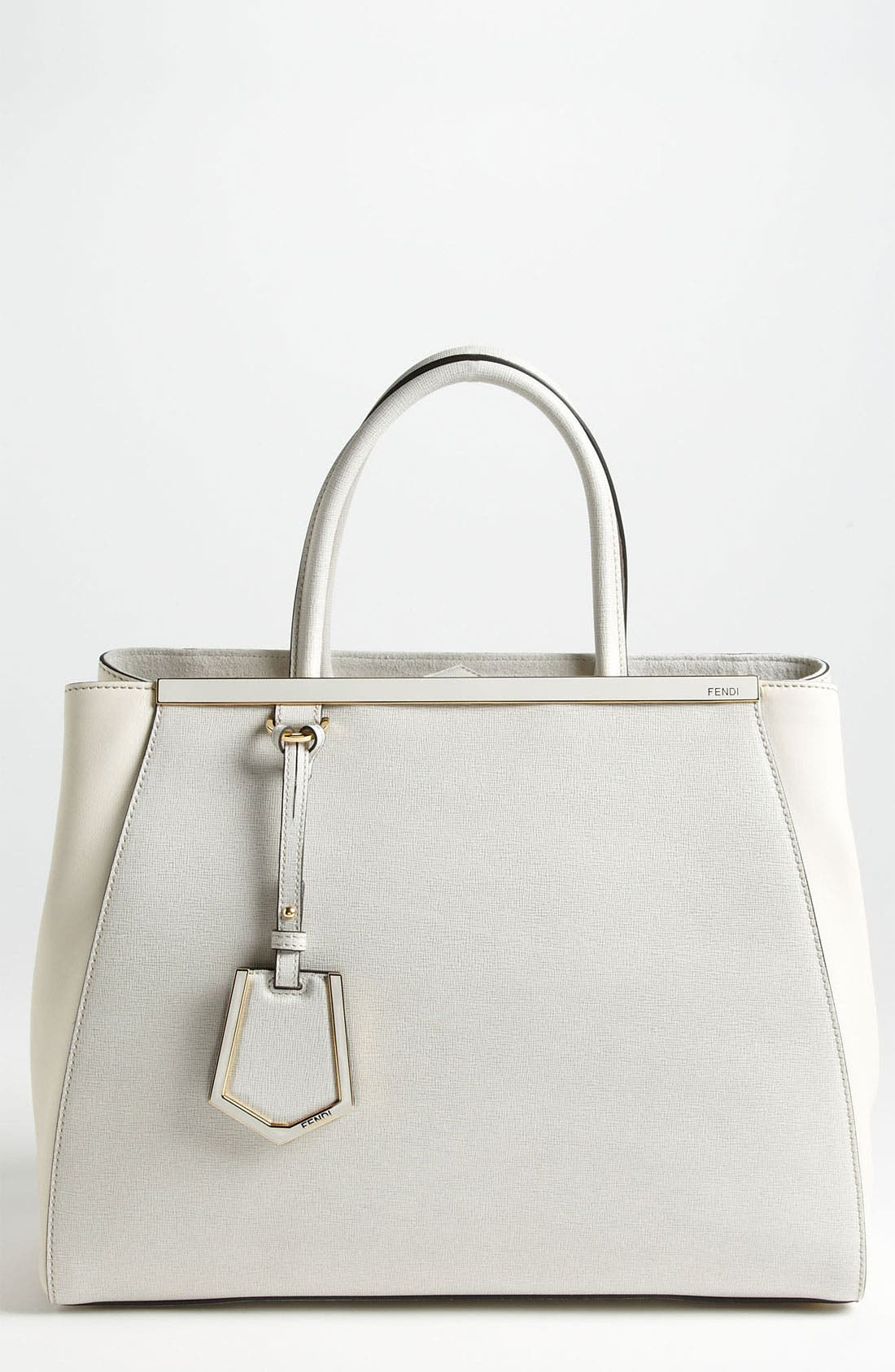 Main Image - Fendi '2Jours Elite' Leather Shopper