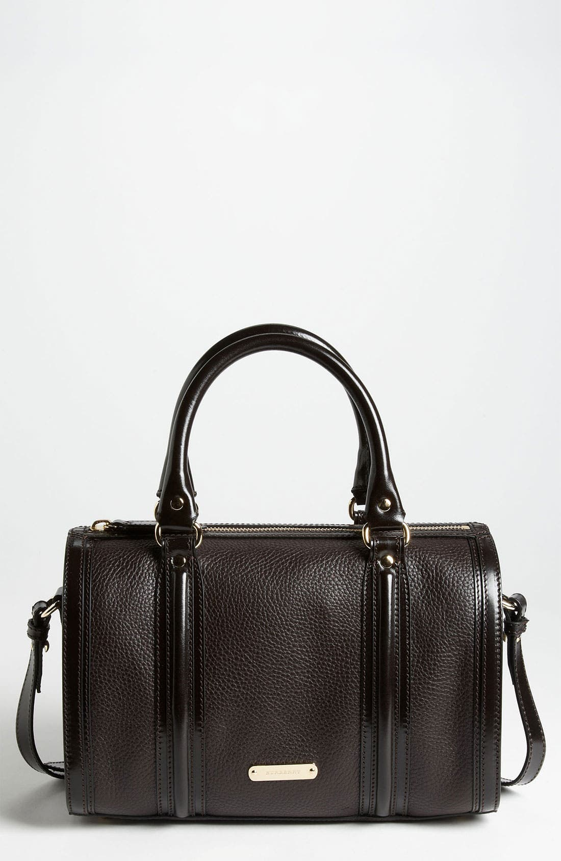 Main Image - Burberry 'London Grainy' Leather Satchel, Medium