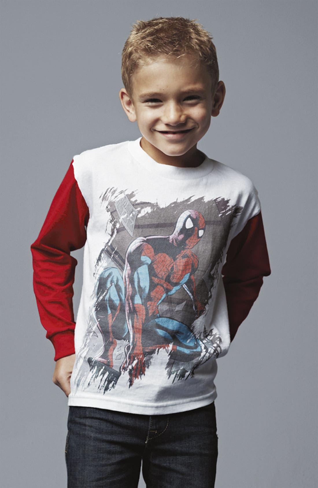 Alternate Image 2  - Jem 'Spidey Stance' T-Shirt (Little Boys)