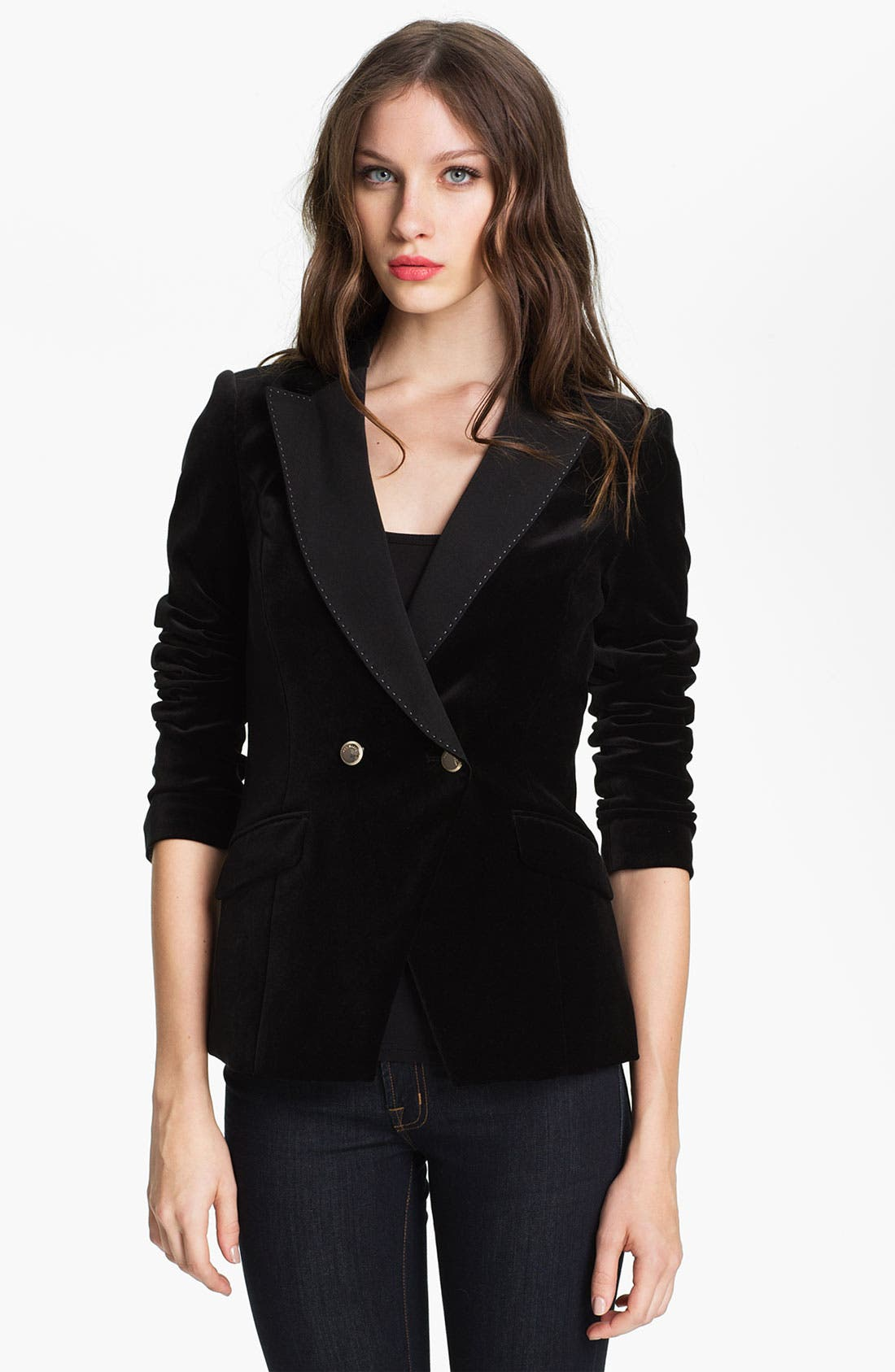 Main Image - Ted Baker London Velvet Blazer