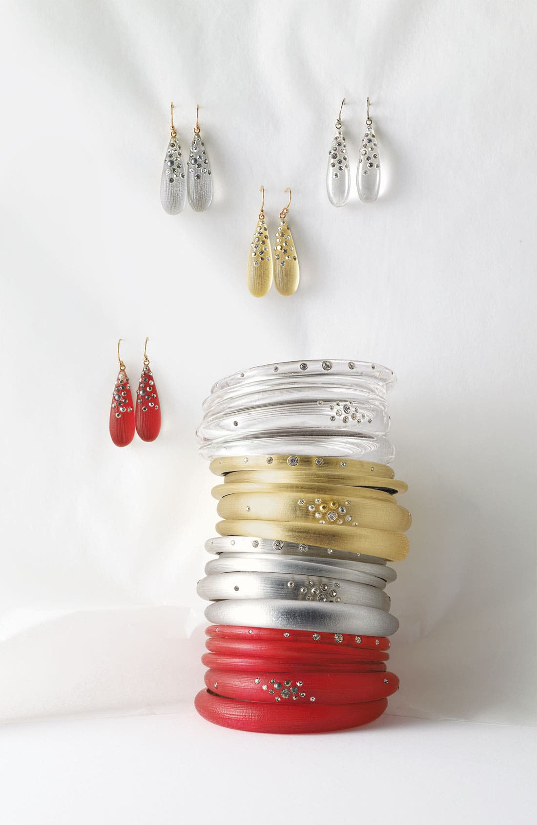 Alternate Image 2  - Alexis Bittar Skinny Tapered Bangles (Set of 3) (Nordstrom Exclusive)