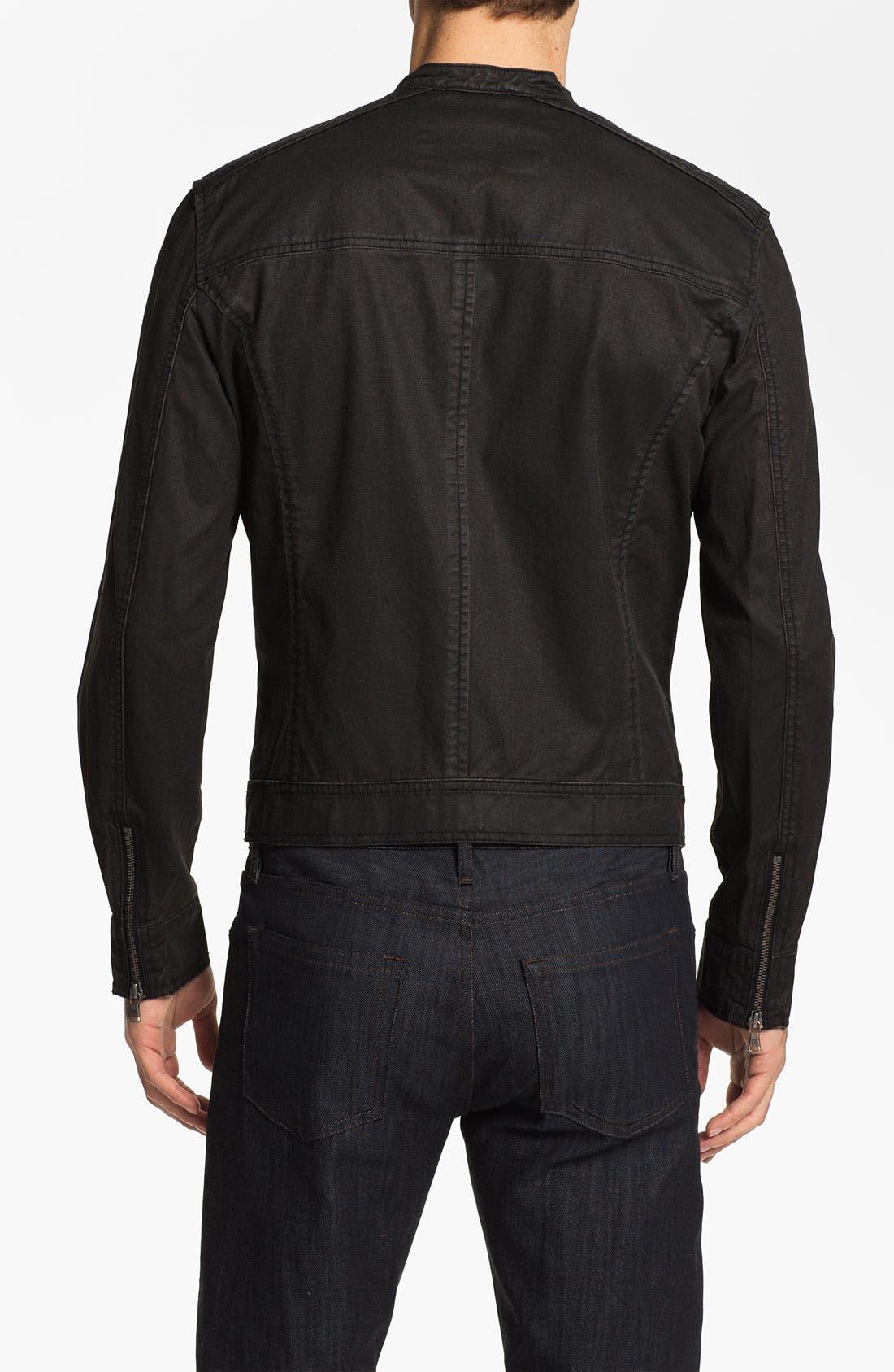 Alternate Image 2  - John Varvatos Star USA Denim Moto Jacket