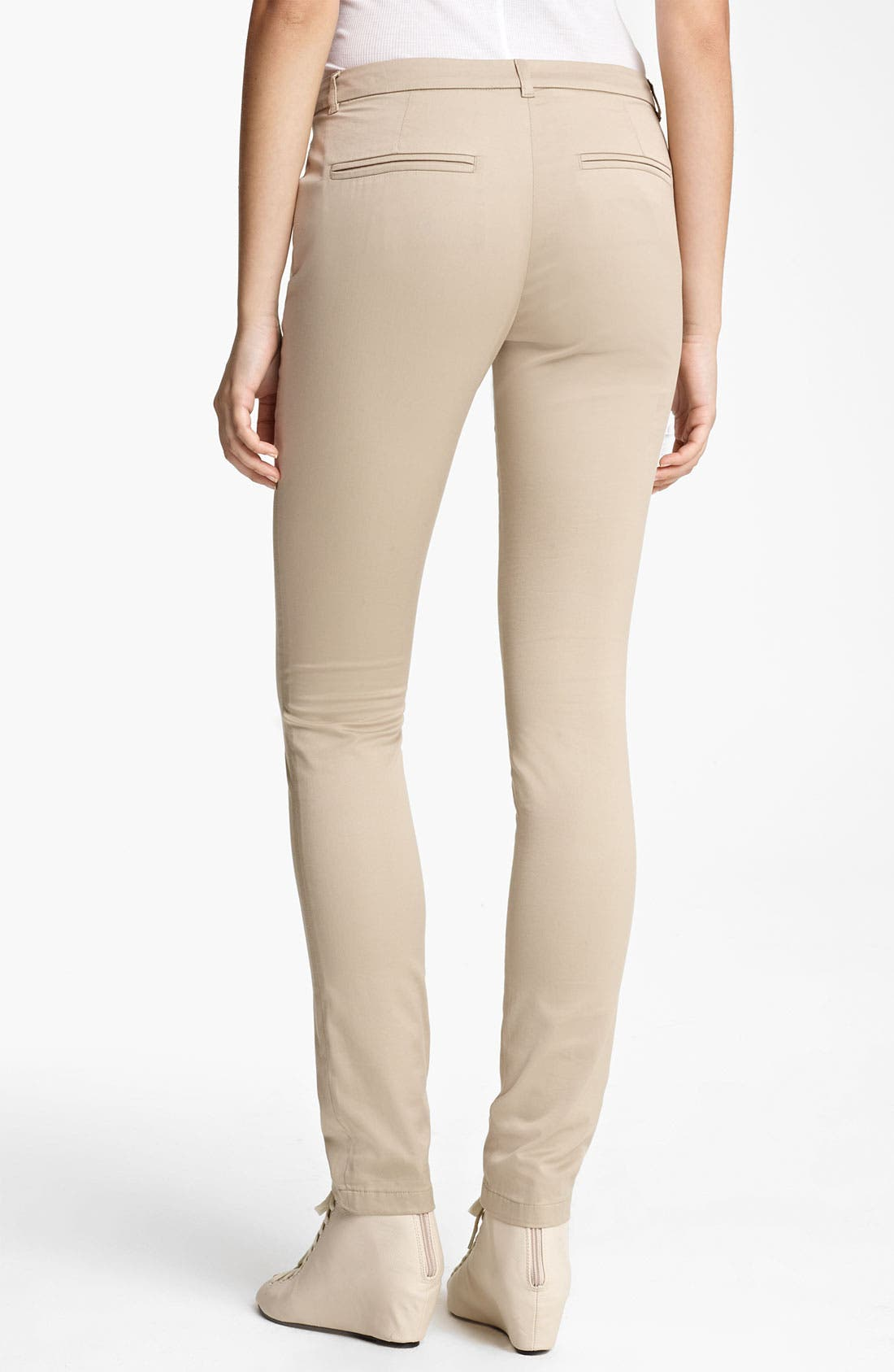 Alternate Image 2  - Band of Outsiders Slim Stretch Cotton Pants