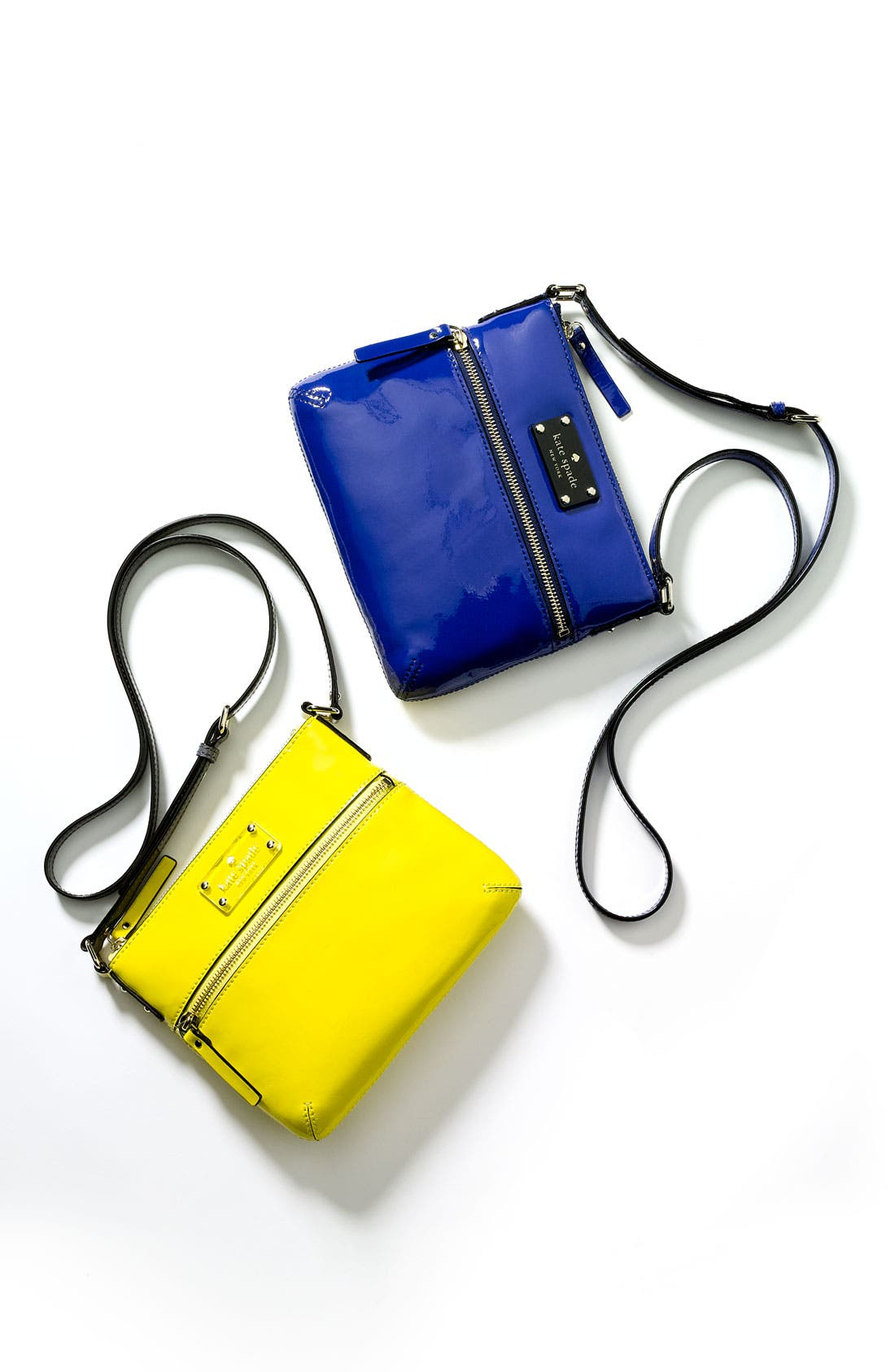 Alternate Image 2  - kate spade new york 'flicker -  tenley' patent crossbody bag
