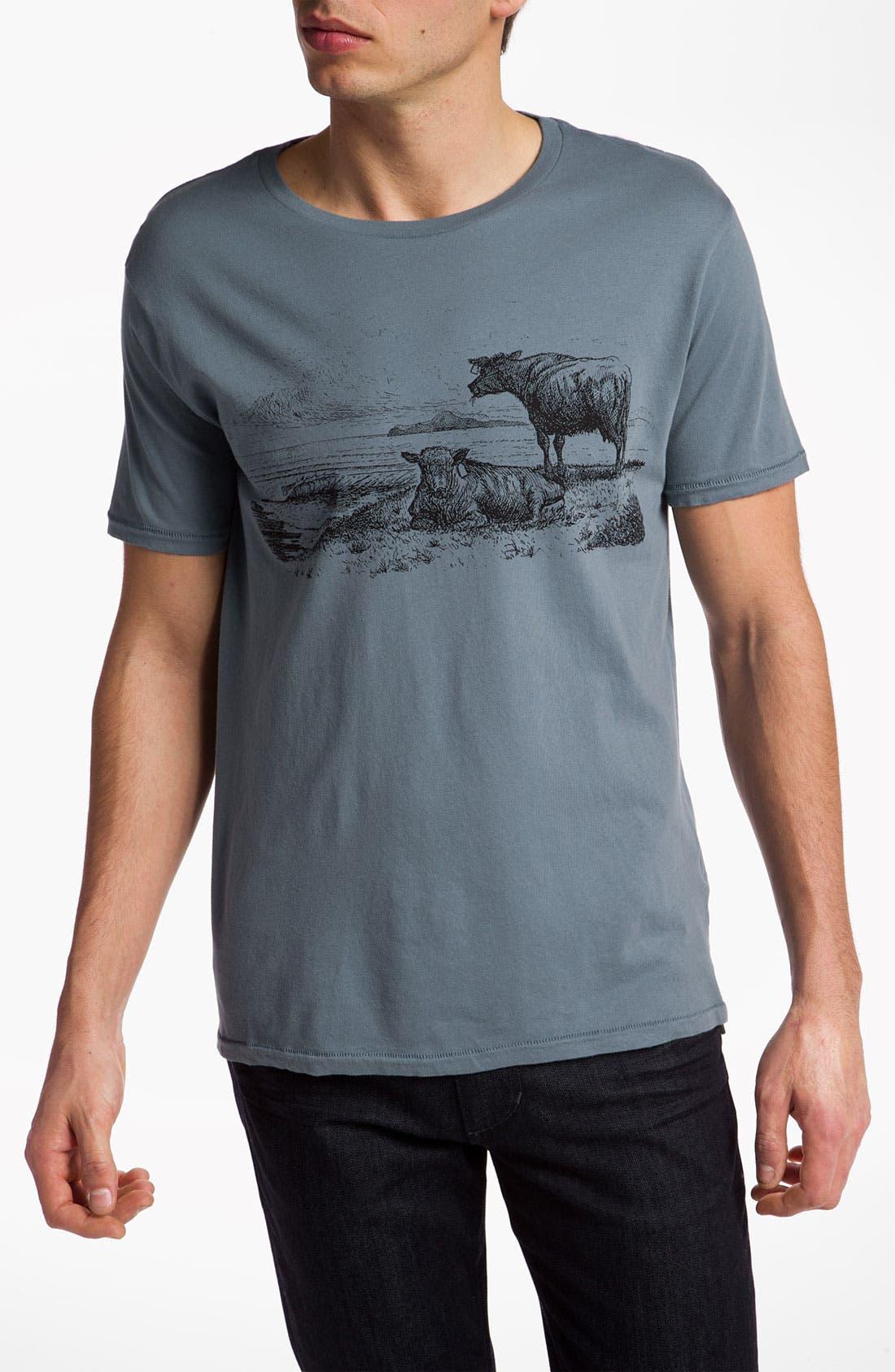 Alternate Image 1 Selected - VSTR 'Old Bull' Graphic T-Shirt