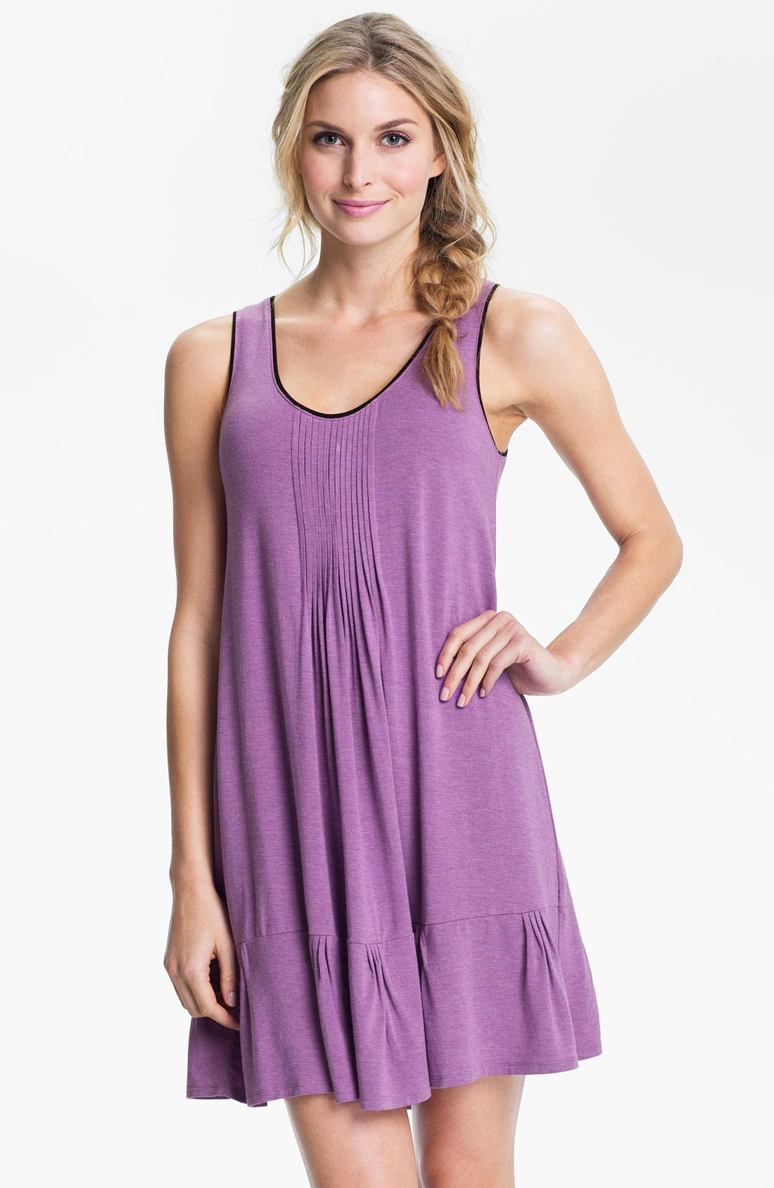 Alternate Image 1 Selected - DKNY '7 Easy Pieces' Pintuck Chemise