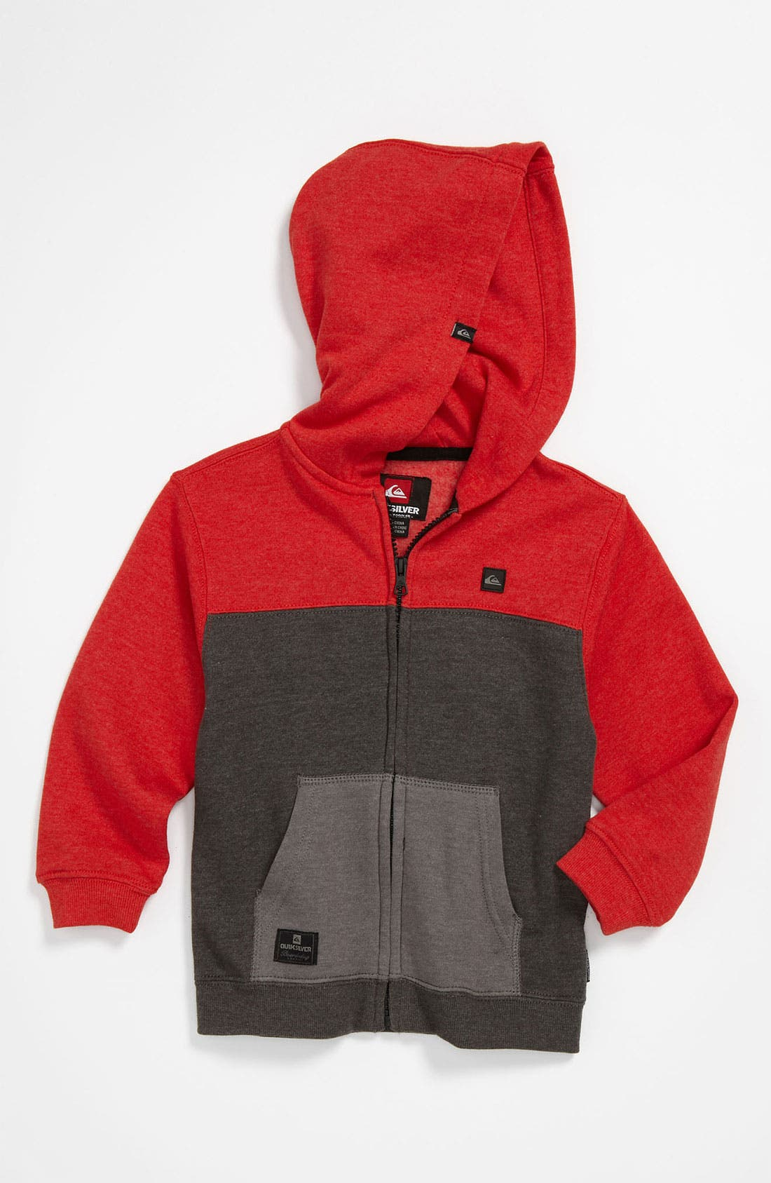 Alternate Image 1 Selected - Quiksilver 'Block It Up' Hoodie (Toddler)