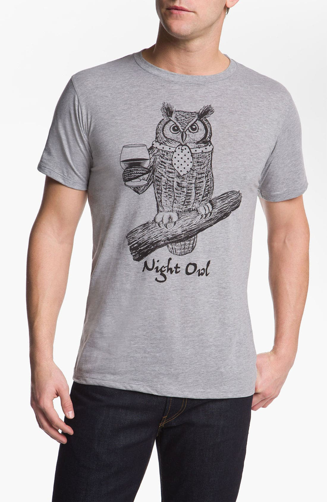Alternate Image 1 Selected - Headline Shirts 'Night Owl' Graphic T-Shirt