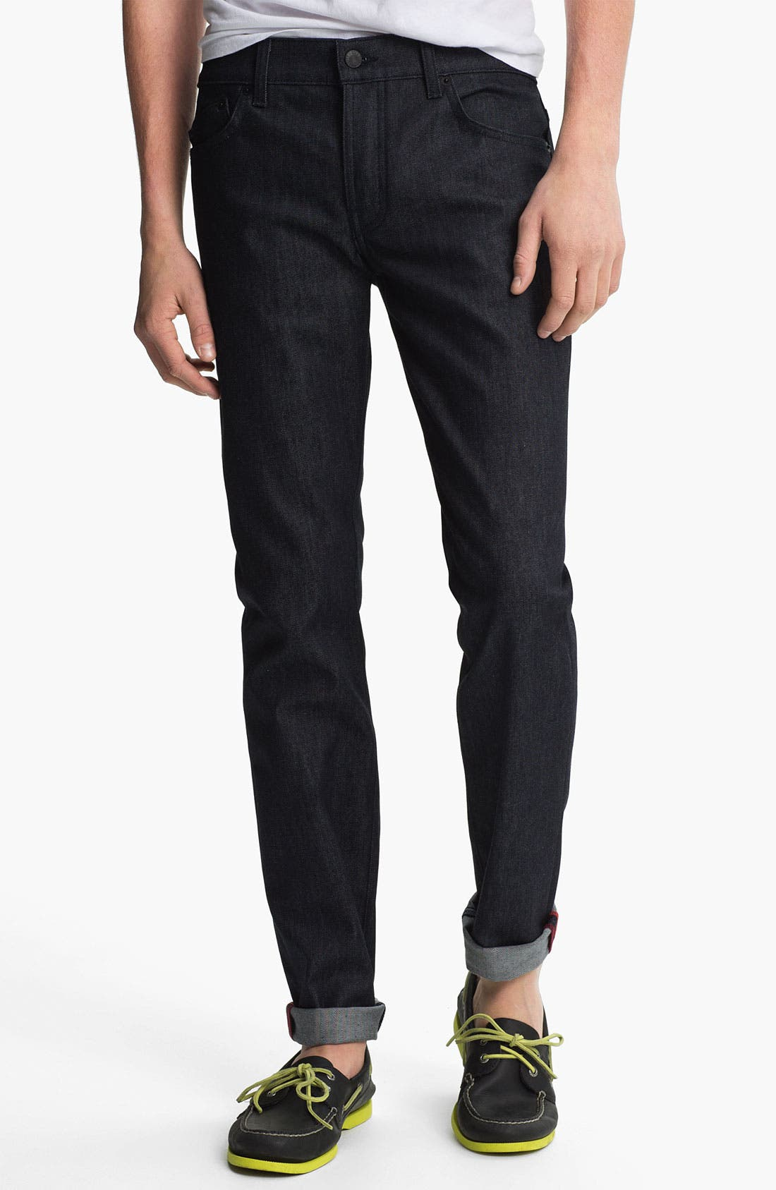 Alternate Image 2  - Kill City 'Wire' Slim Skinny Leg Jeans (Indigo)