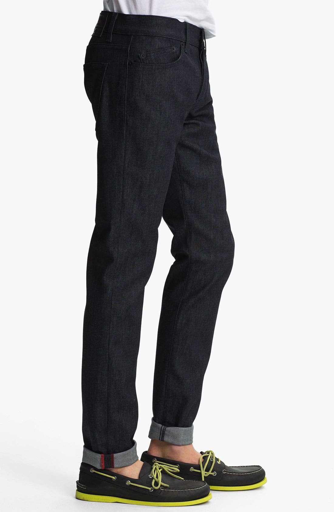 Alternate Image 3  - Kill City 'Wire' Slim Skinny Leg Jeans (Indigo)
