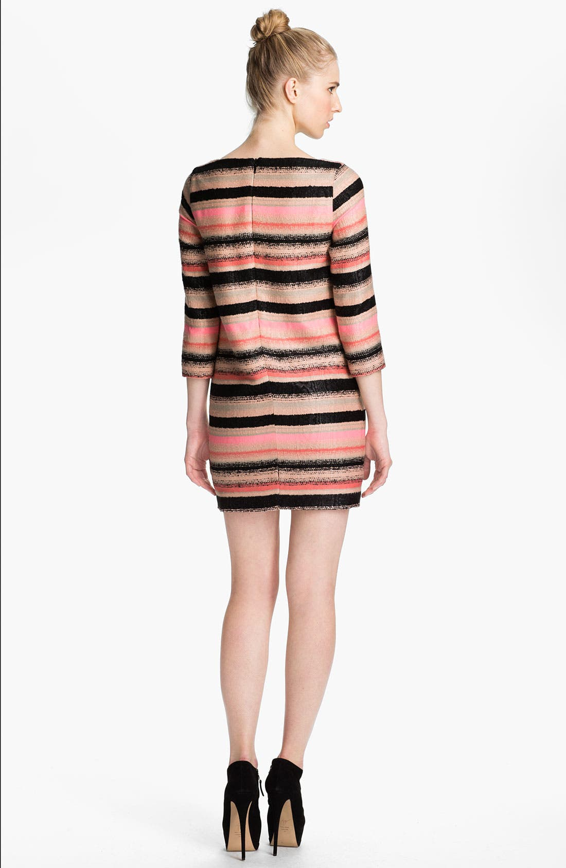 Alternate Image 2  - MSGM Stripe Tweed Shift Dress