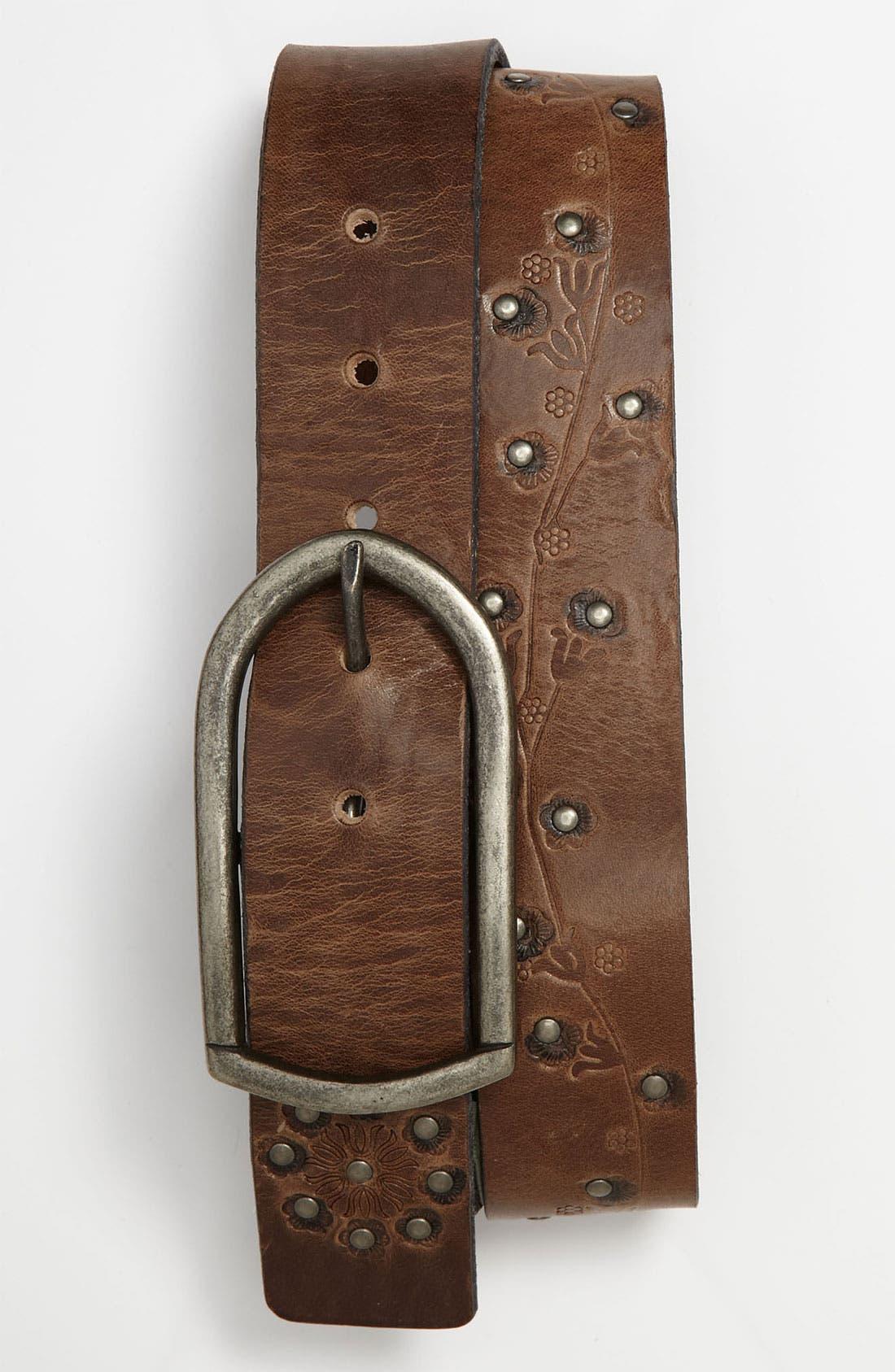 Alternate Image 1 Selected - Nudie Leather Belt