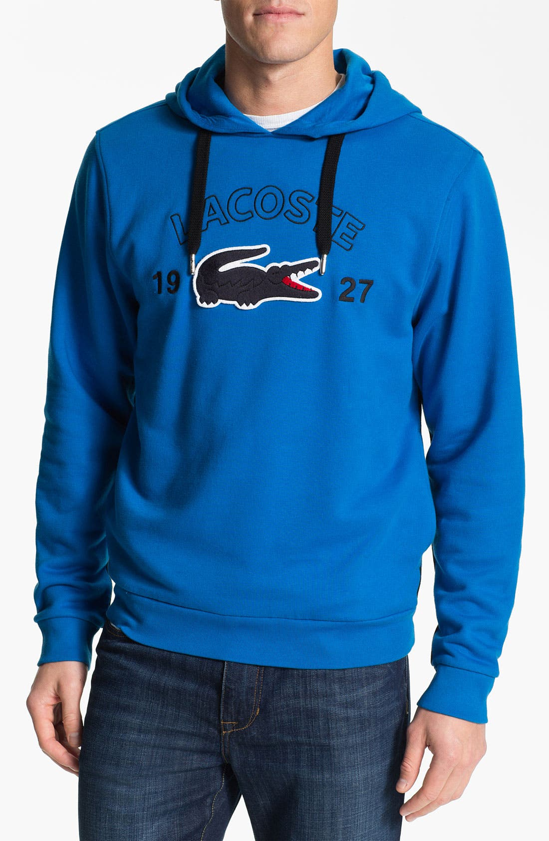 Alternate Image 1 Selected - Lacoste Cotton Hoodie