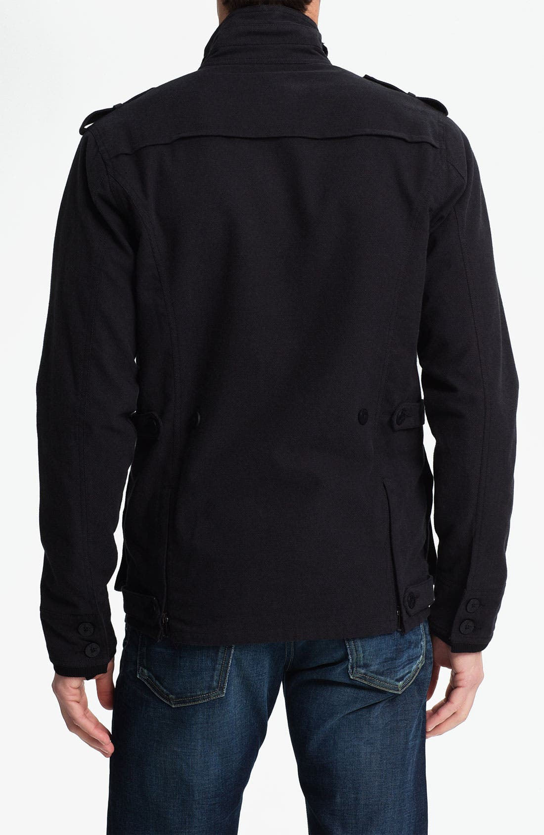 Alternate Image 2  - Kane & Unke Cotton Twill Field Jacket