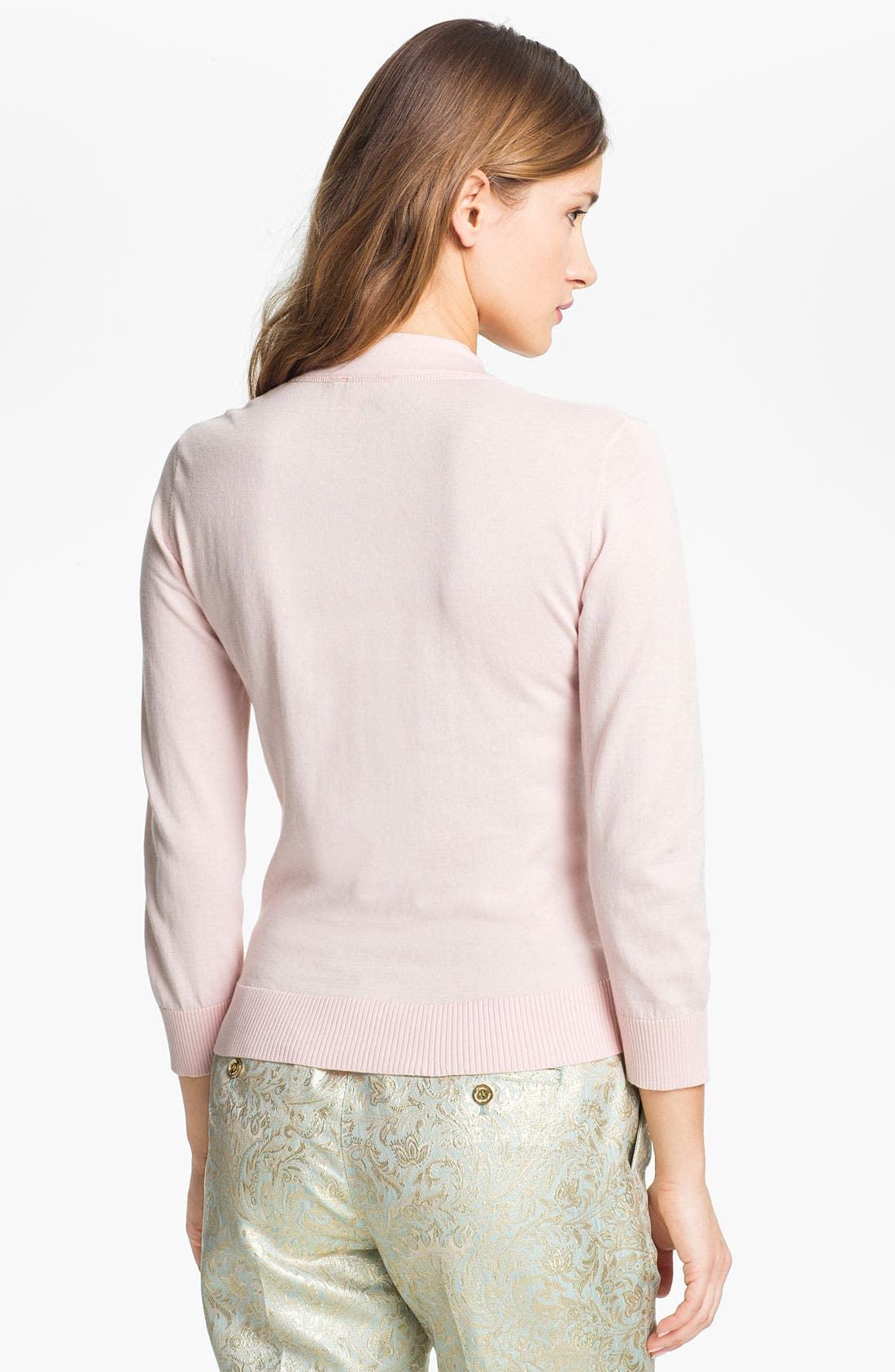 Alternate Image 2  - Tory Burch 'Simone' Shrunken Cardigan