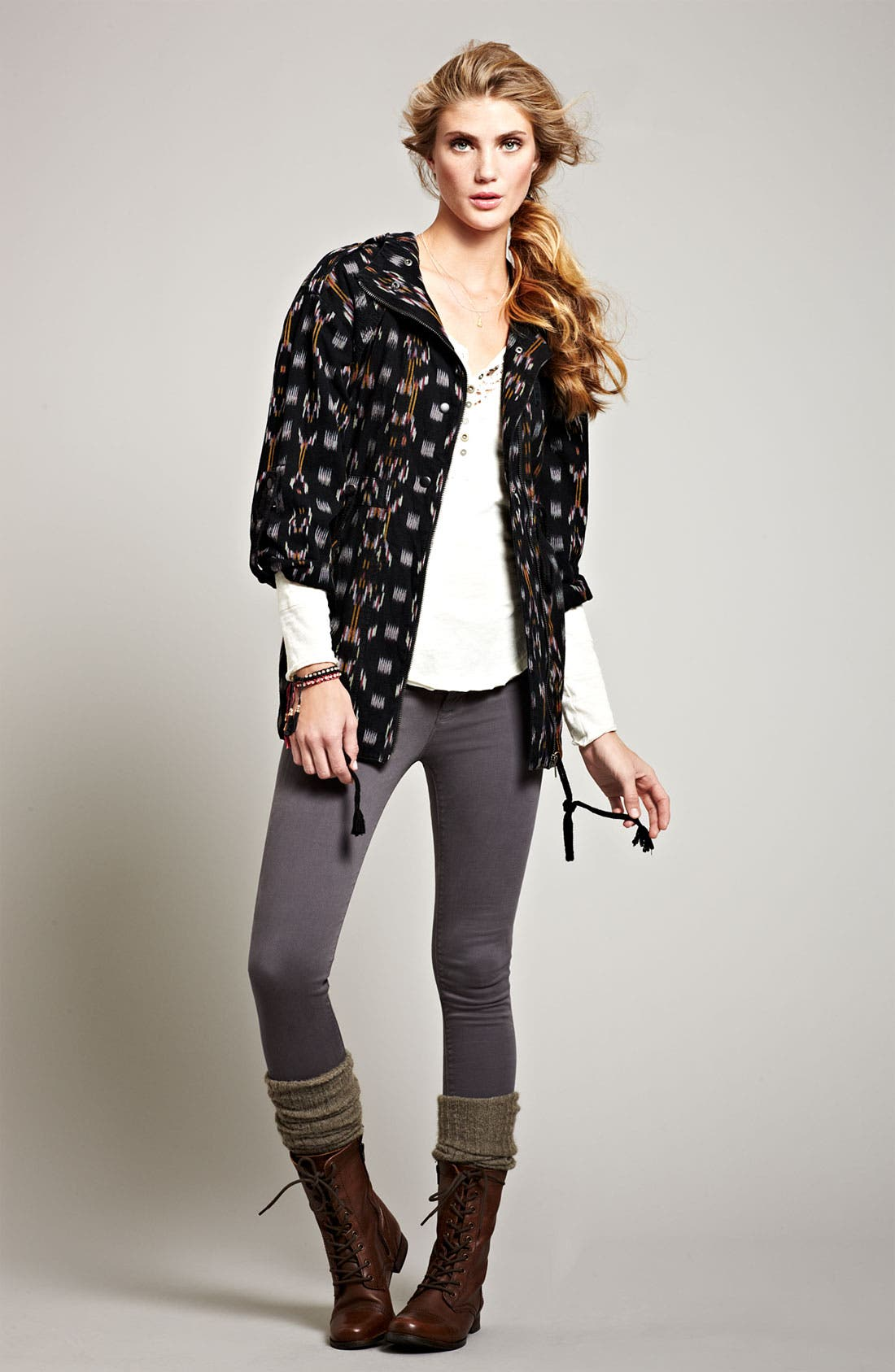 Alternate Image 5  - Free People Ikat Utility Jacket