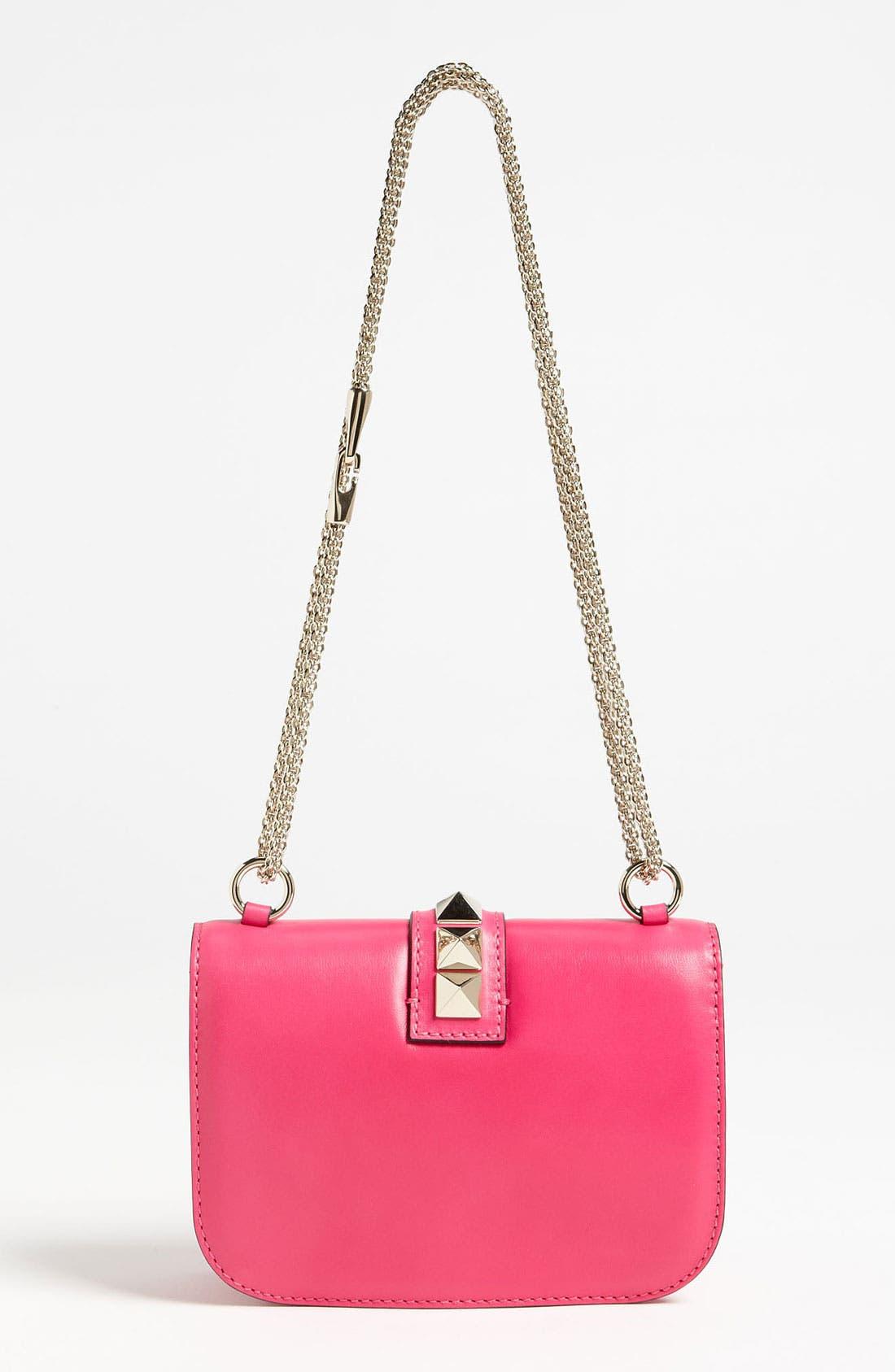 Alternate Image 4  - Valentino 'Lock - Small' Leather Flap Bag