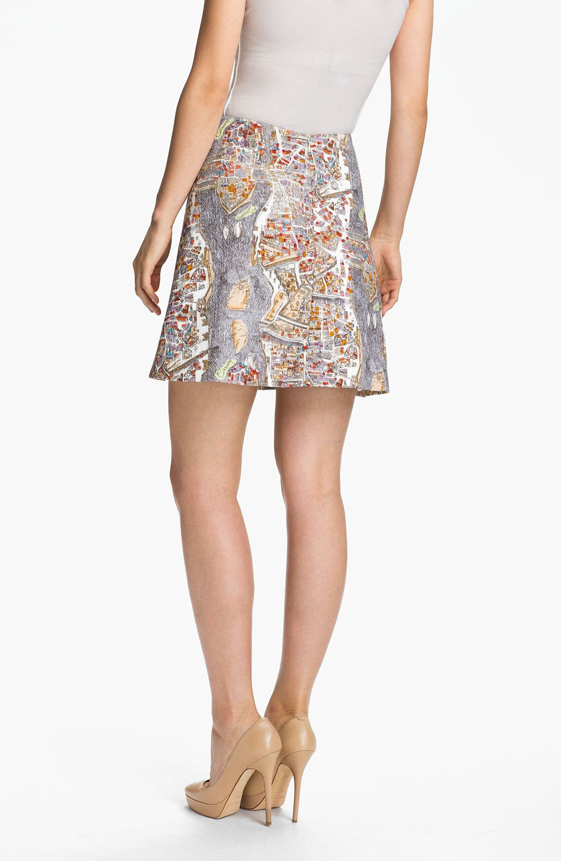 Alternate Image 2  - Carven Print Skirt