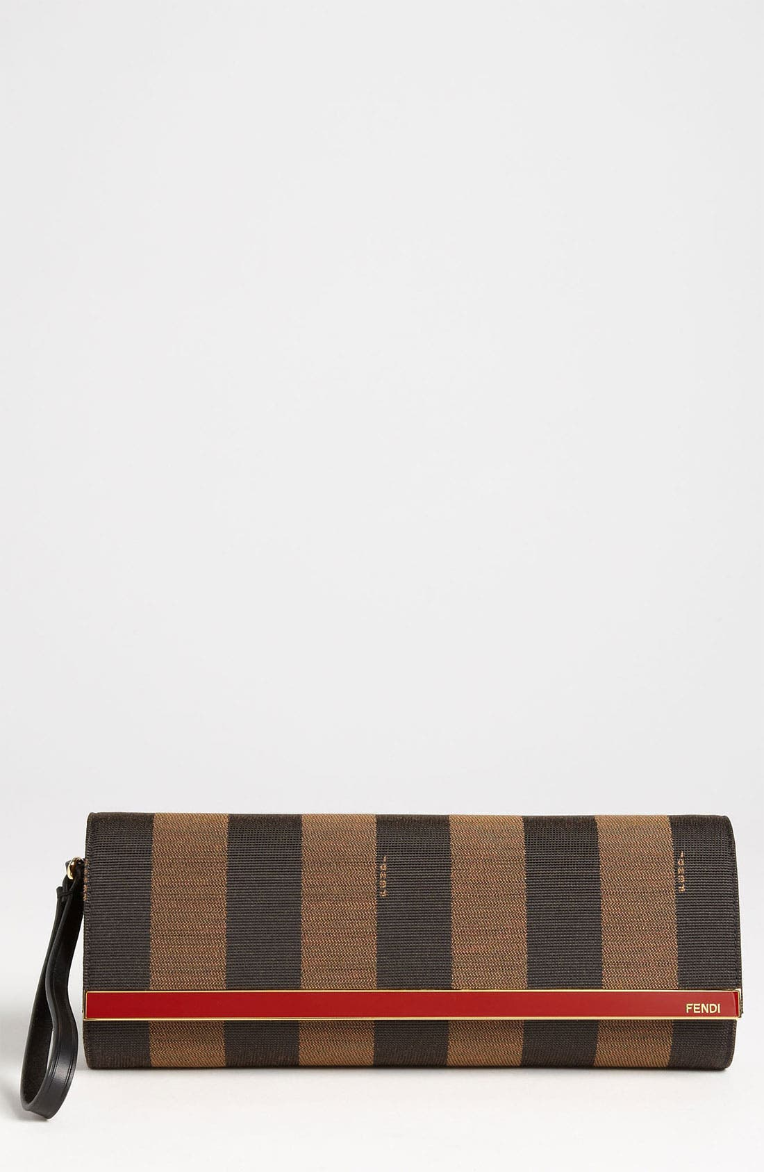 Alternate Image 1 Selected - Fendi 'Pequin - Rush' Clutch