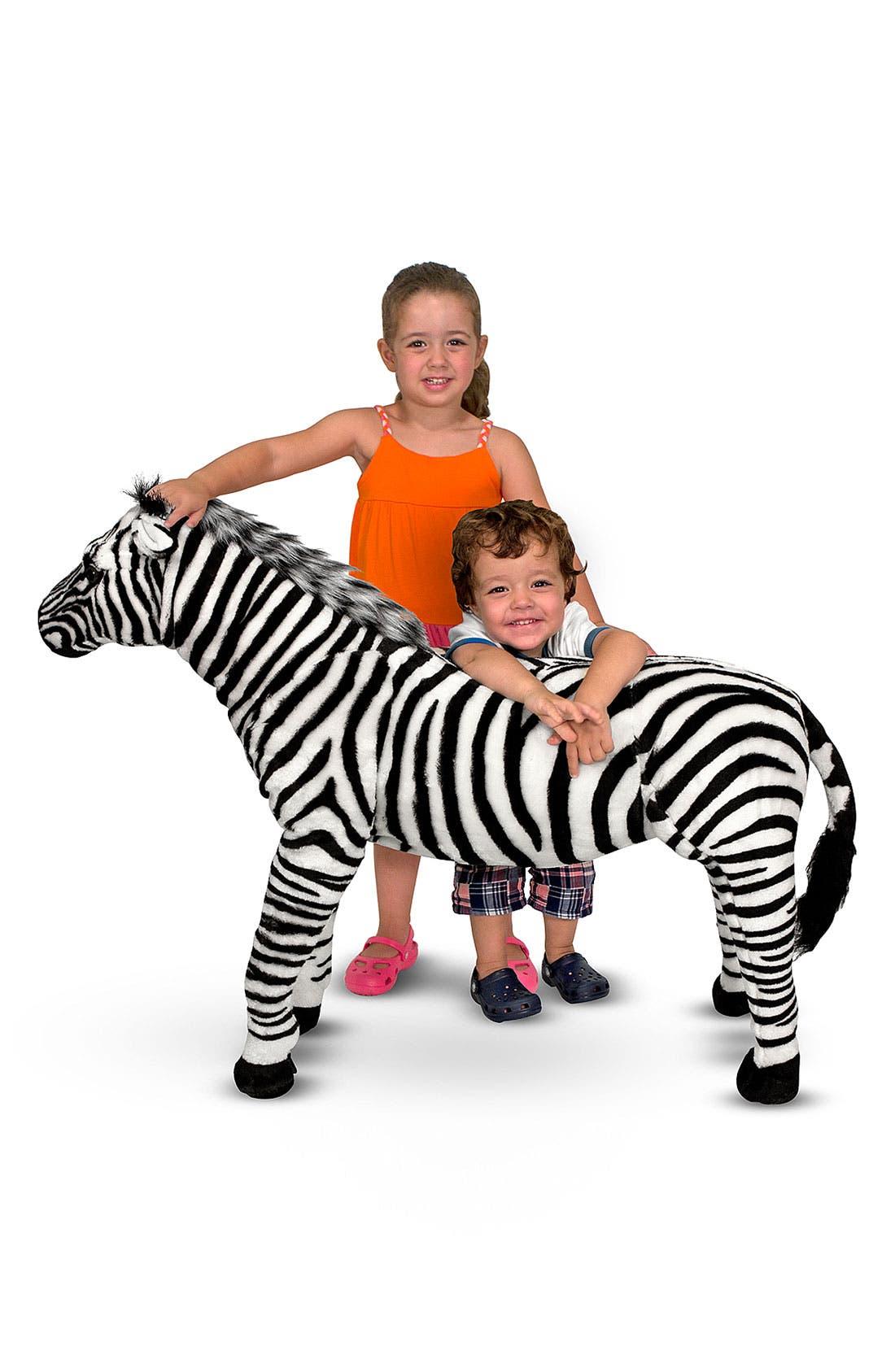 Alternate Image 1 Selected - Melissa & Doug Oversized Zebra