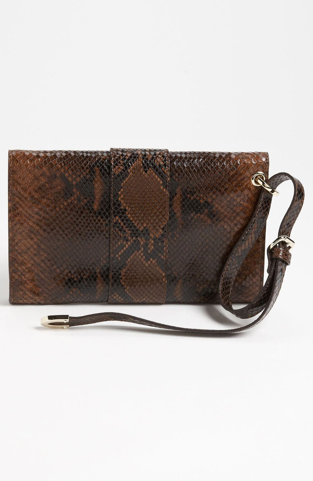 Alternate Image 4  - Jimmy Choo 'Rivera - Small' Leather Clutch