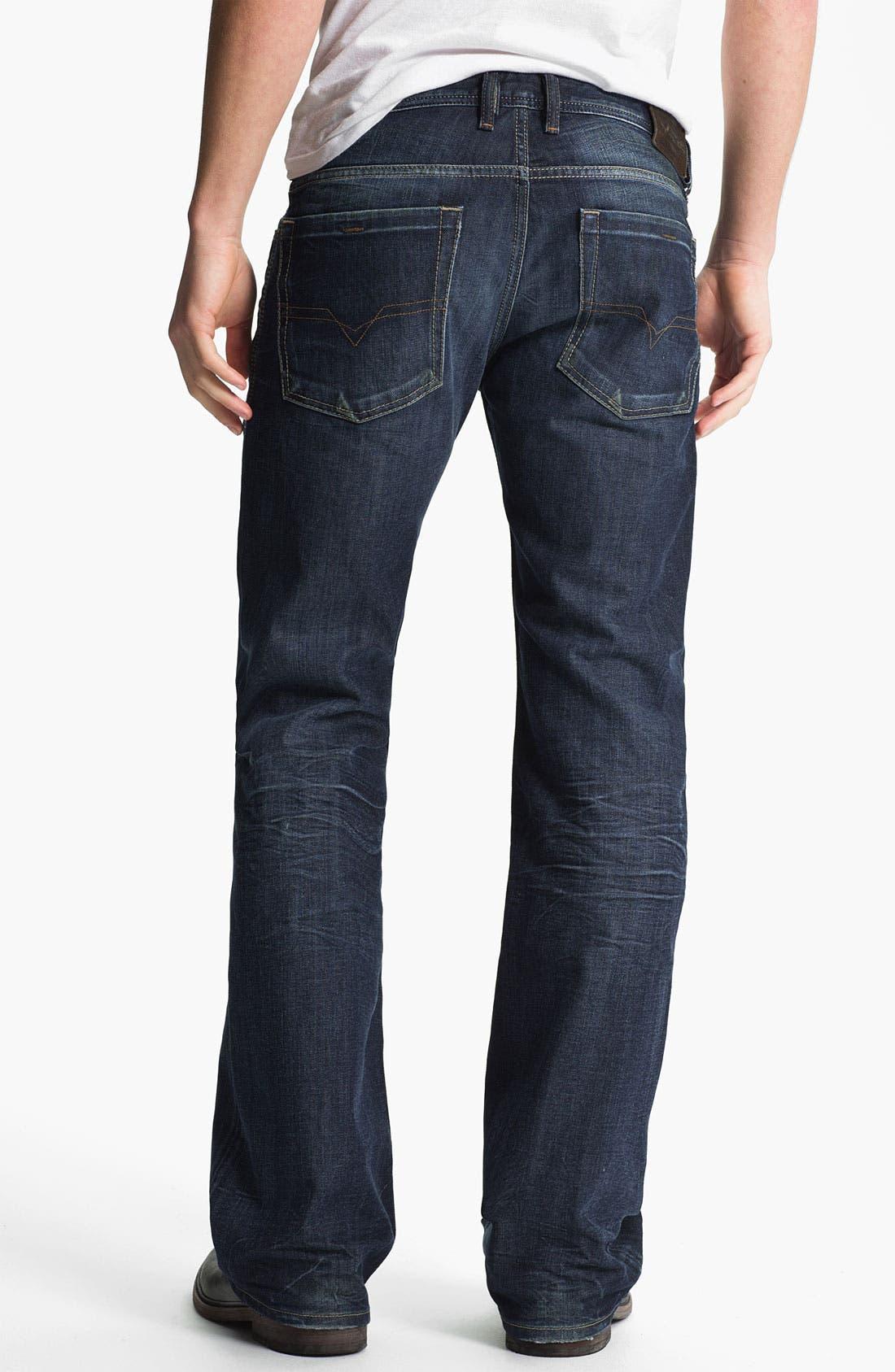 Alternate Image 1 Selected - DIESEL® 'Zathan' Bootcut Jeans (0806U)