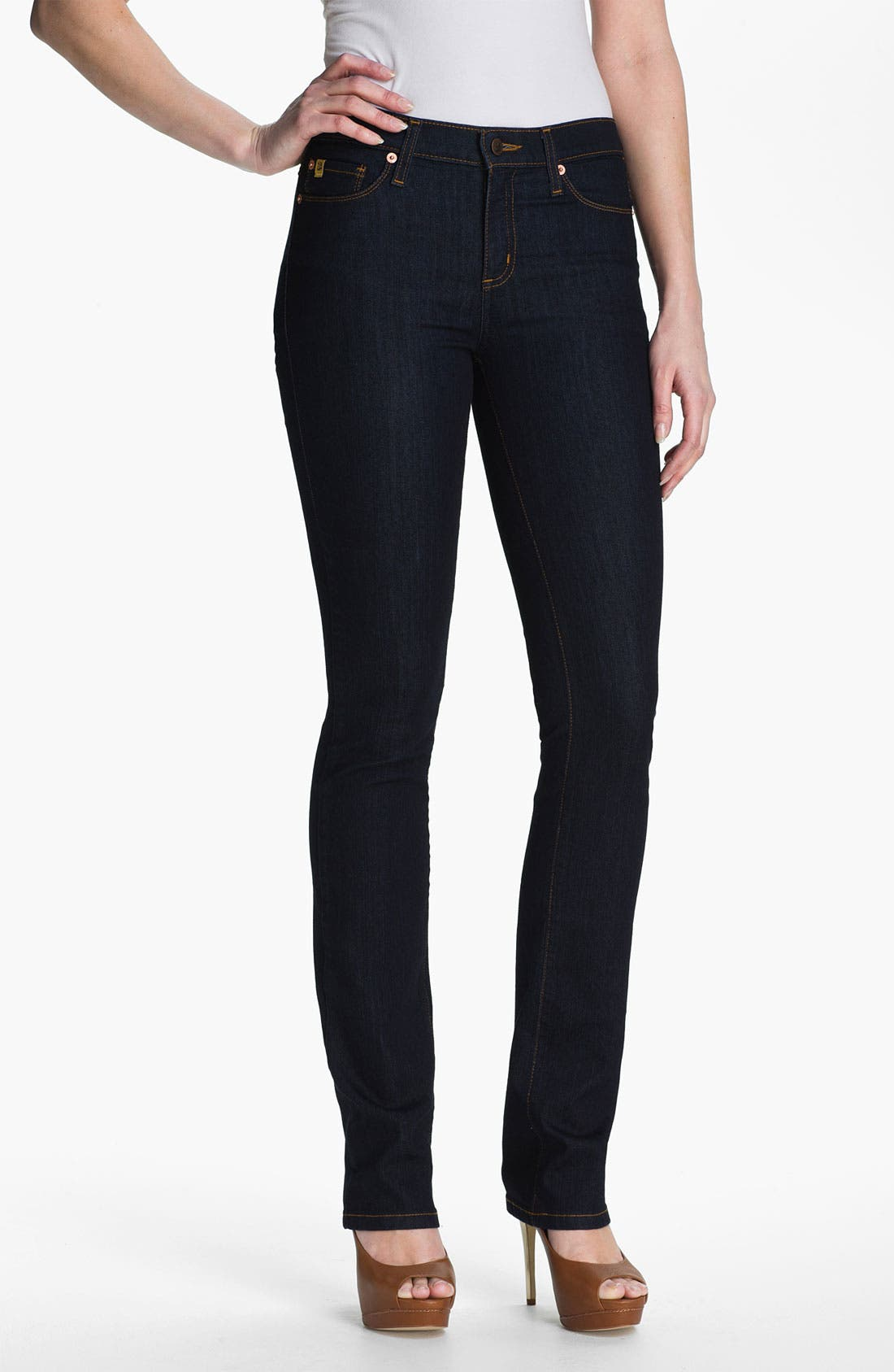 Alternate Image 1 Selected - Second Yoga Jeans Straight Leg Jeans