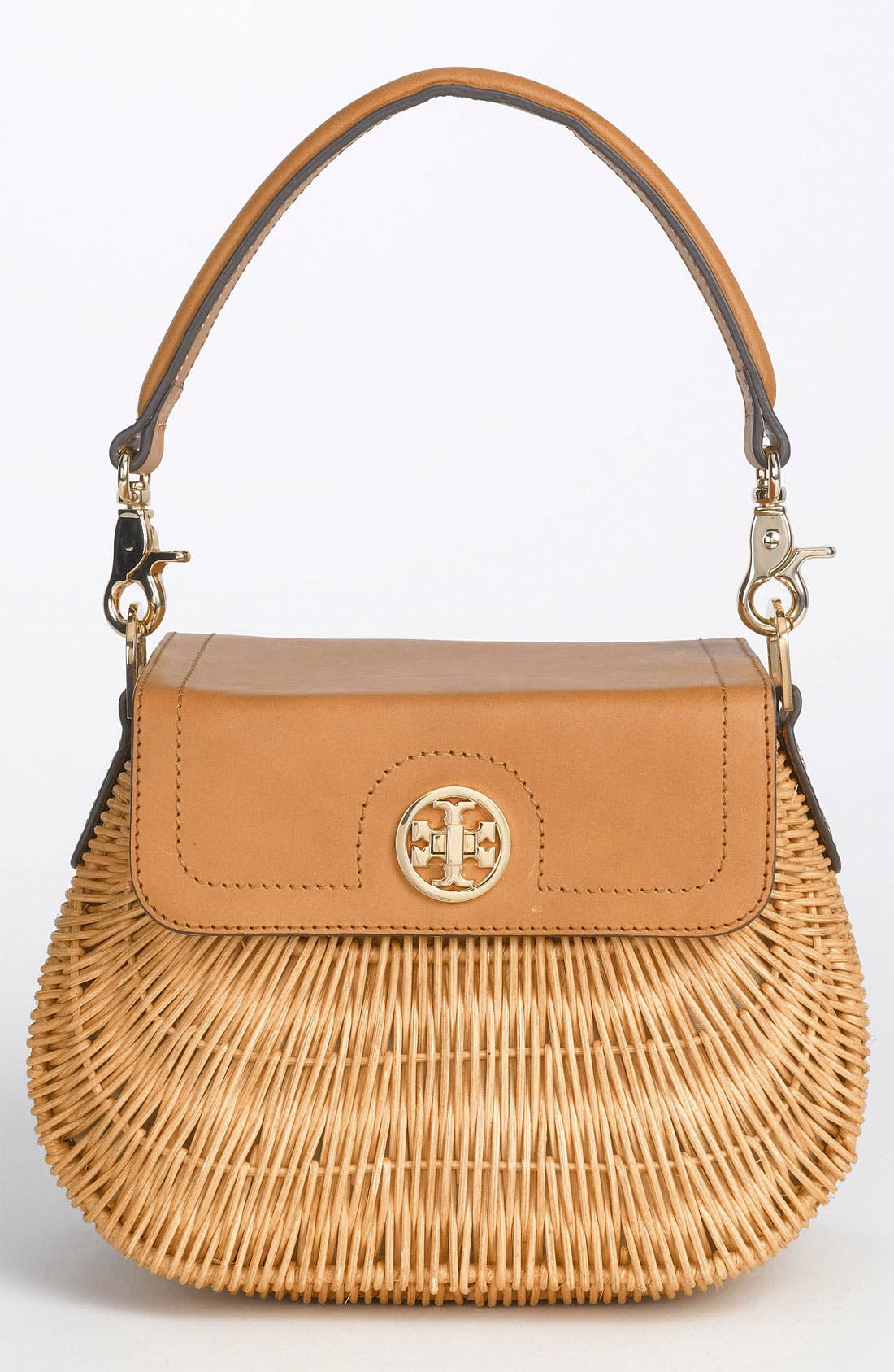 Main Image - Tory Burch 'Lac' Rattan Handbag