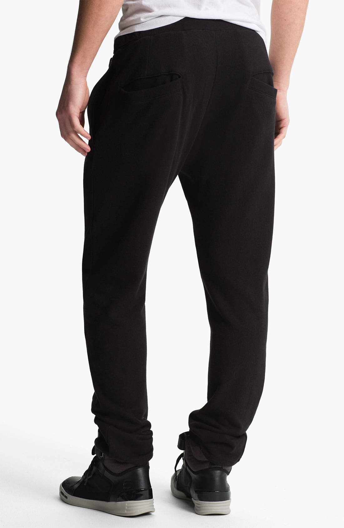 Alternate Image 2  - adidas SLVR 'Curved' French Terry Cotton Sweatpants
