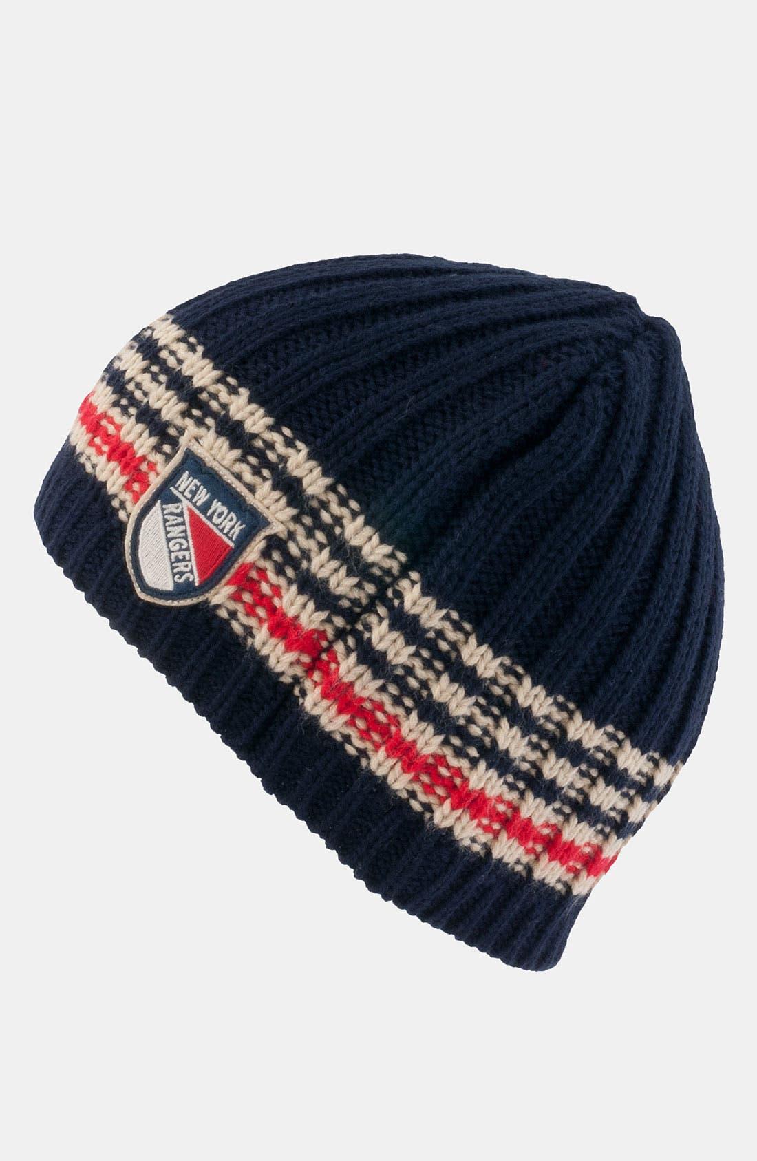 Main Image - American Needle 'New York Rangers - Targhee' Knit Hat