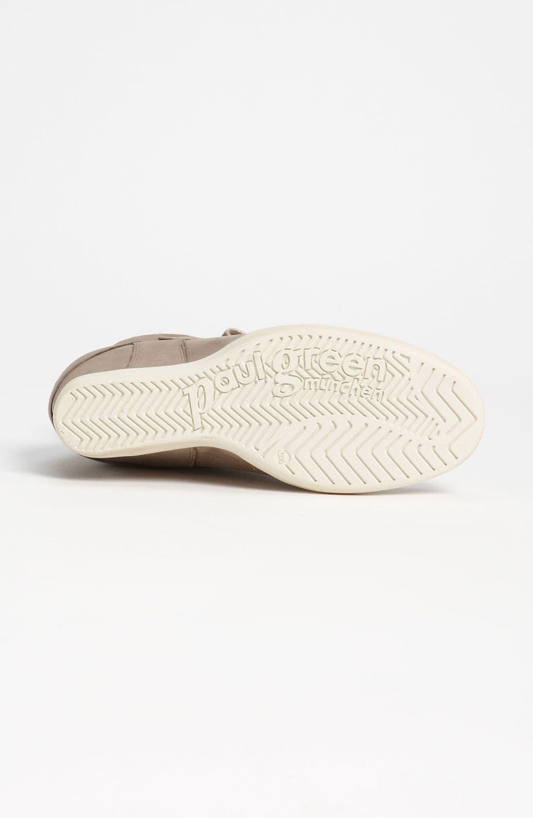 Alternate Image 4  - Paul Green 'Ozzie' Wedge Sneaker