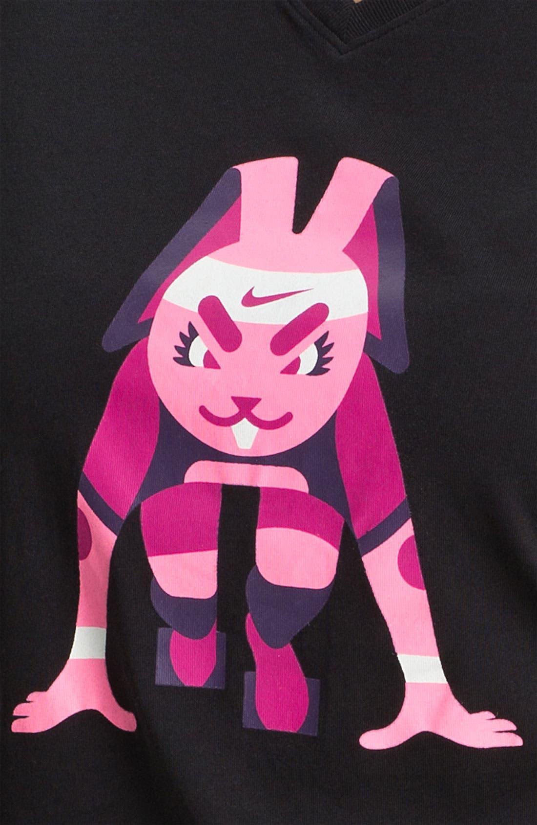 Alternate Image 3  - Nike 'Bunny' Short Sleeve Tee