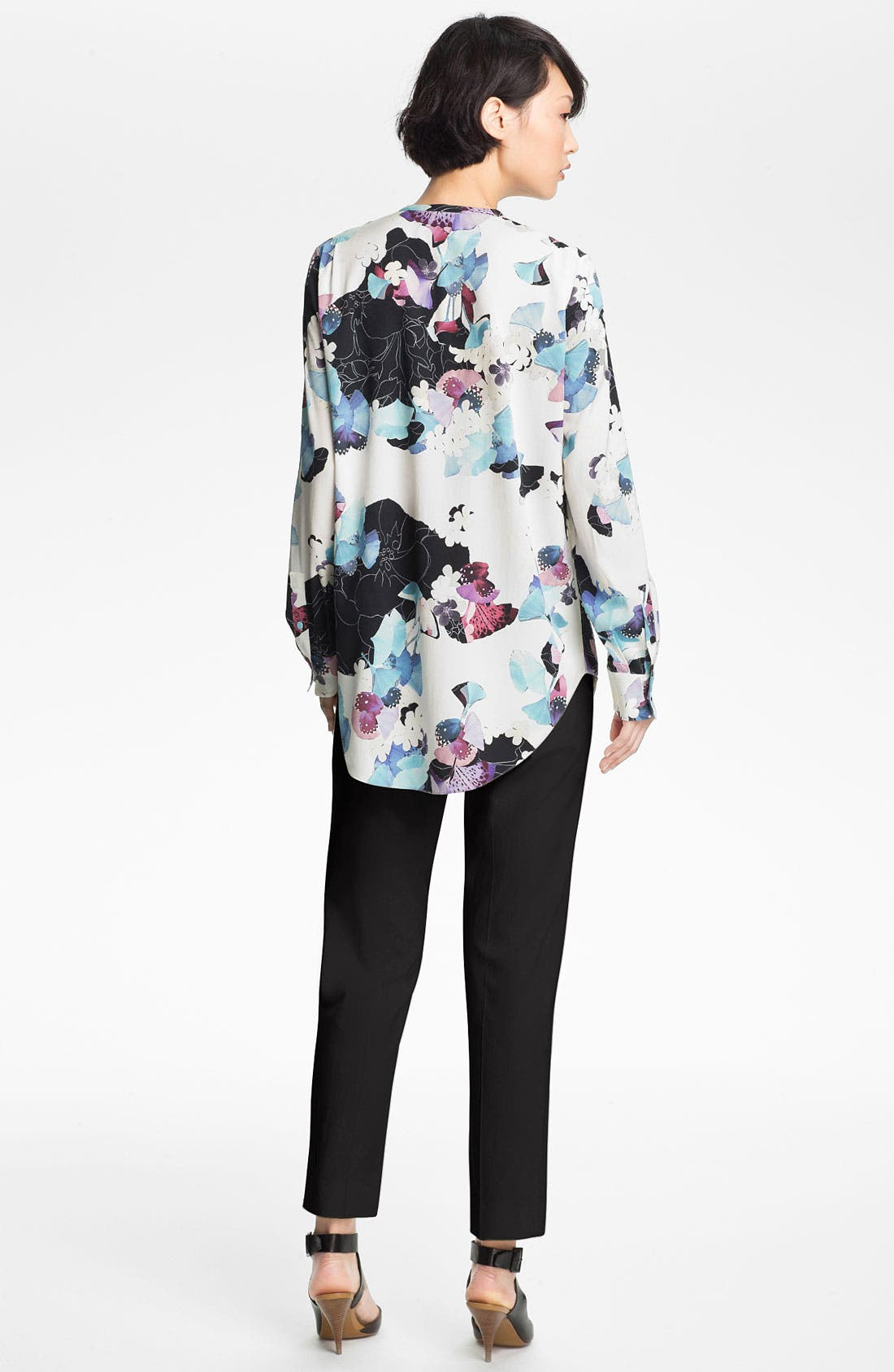 Alternate Image 2  - 3.1 Phillip Lim Zip Henley Blouse