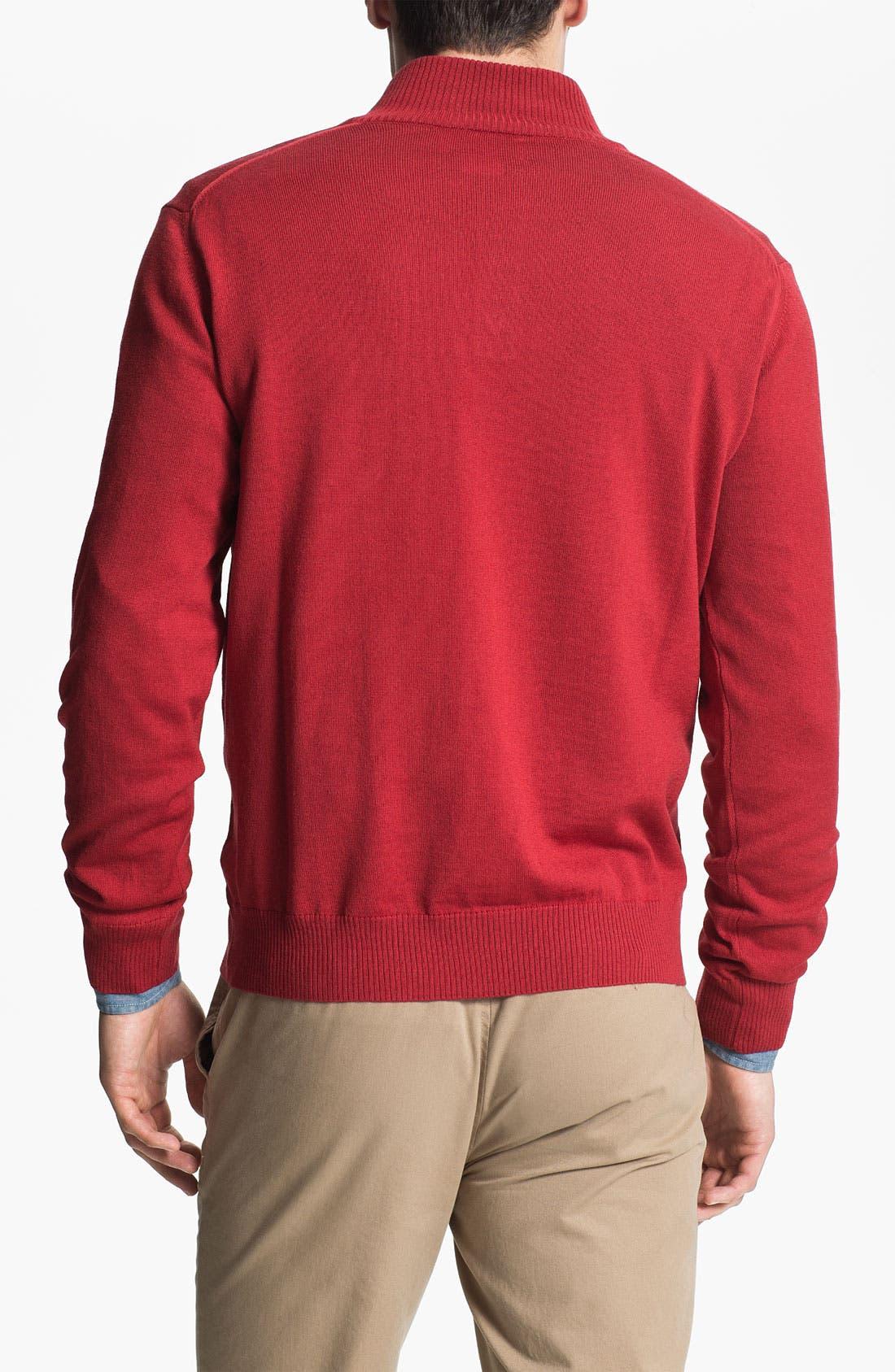 Alternate Image 2  - Thomas Dean 'Washington State University' Wool Sweater