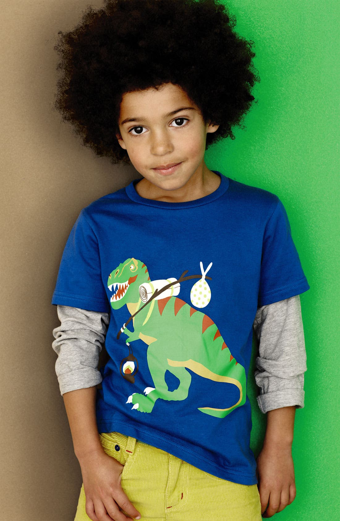 Alternate Image 2  - Mini Boden 'Animal Adventure' T-Shirt (Little Boys & Big Boys)