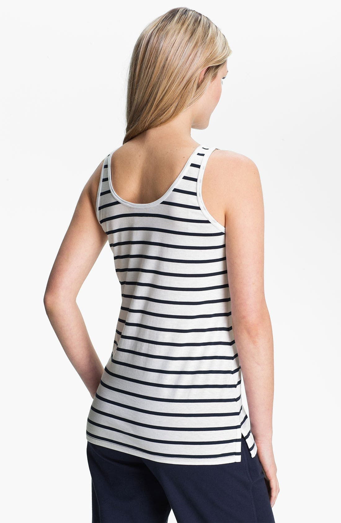 Alternate Image 2  - Tommy Bahama 'Ocean Shell' Stripe Tank