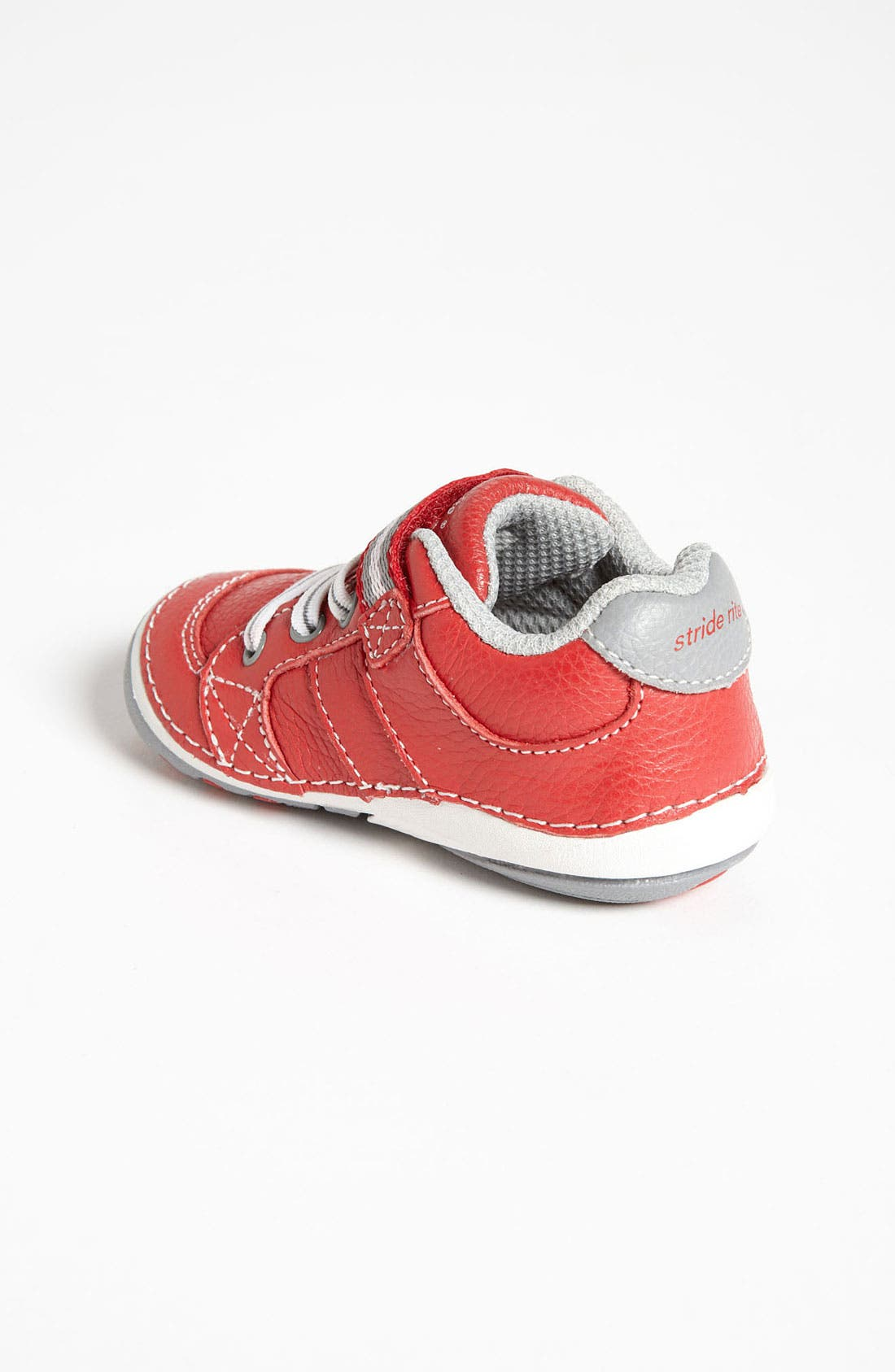 'Artie' Sneaker,                             Alternate thumbnail 2, color,                             Red/ Grey