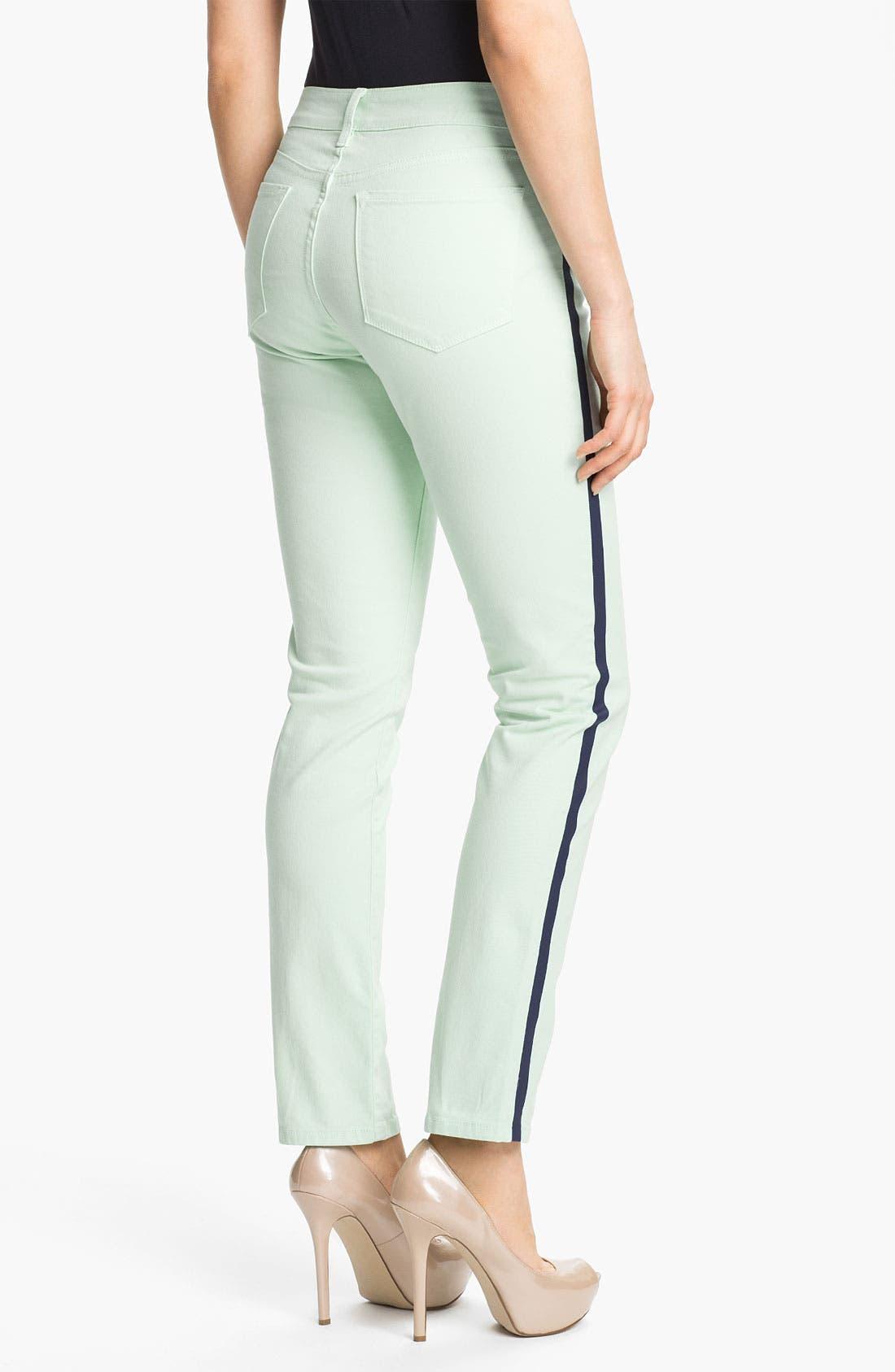 Alternate Image 2  - NYDJ 'Sheri - Tuxedo' Skinny Stretch Jeans