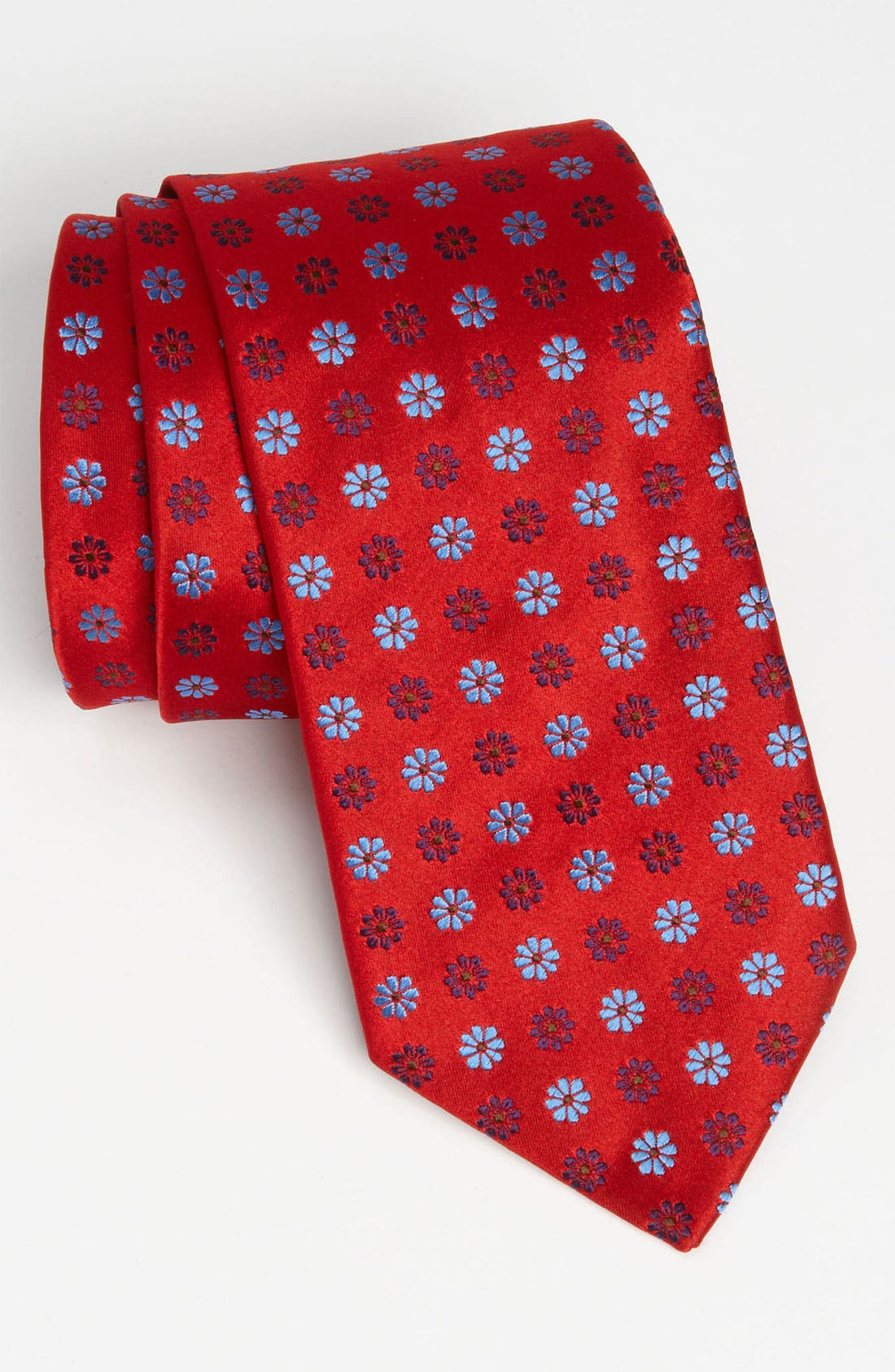 Alternate Image 1 Selected - Thomas Pink Woven Silk Tie