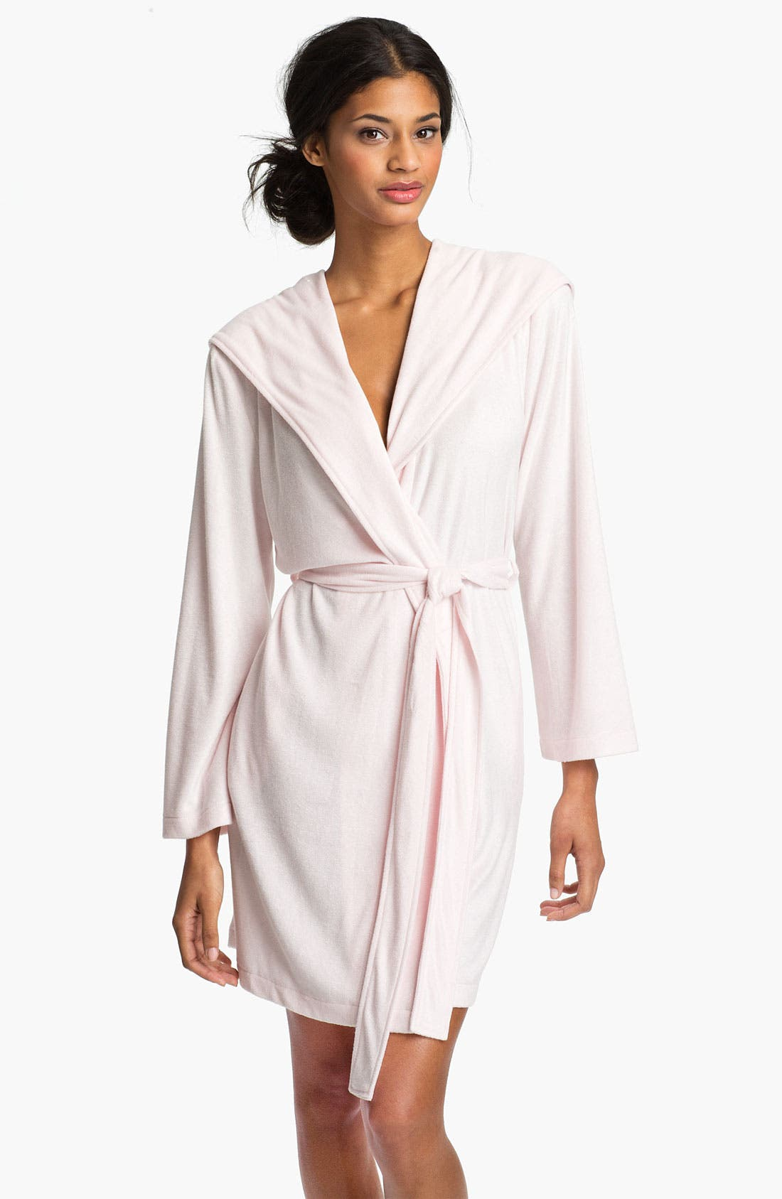 Alternate Image 1 Selected - Nordstrom Hooded Terry Robe