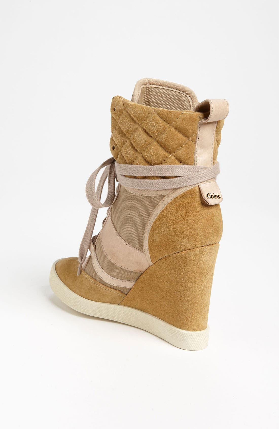 Alternate Image 2  - Chloé Wedge Sneaker