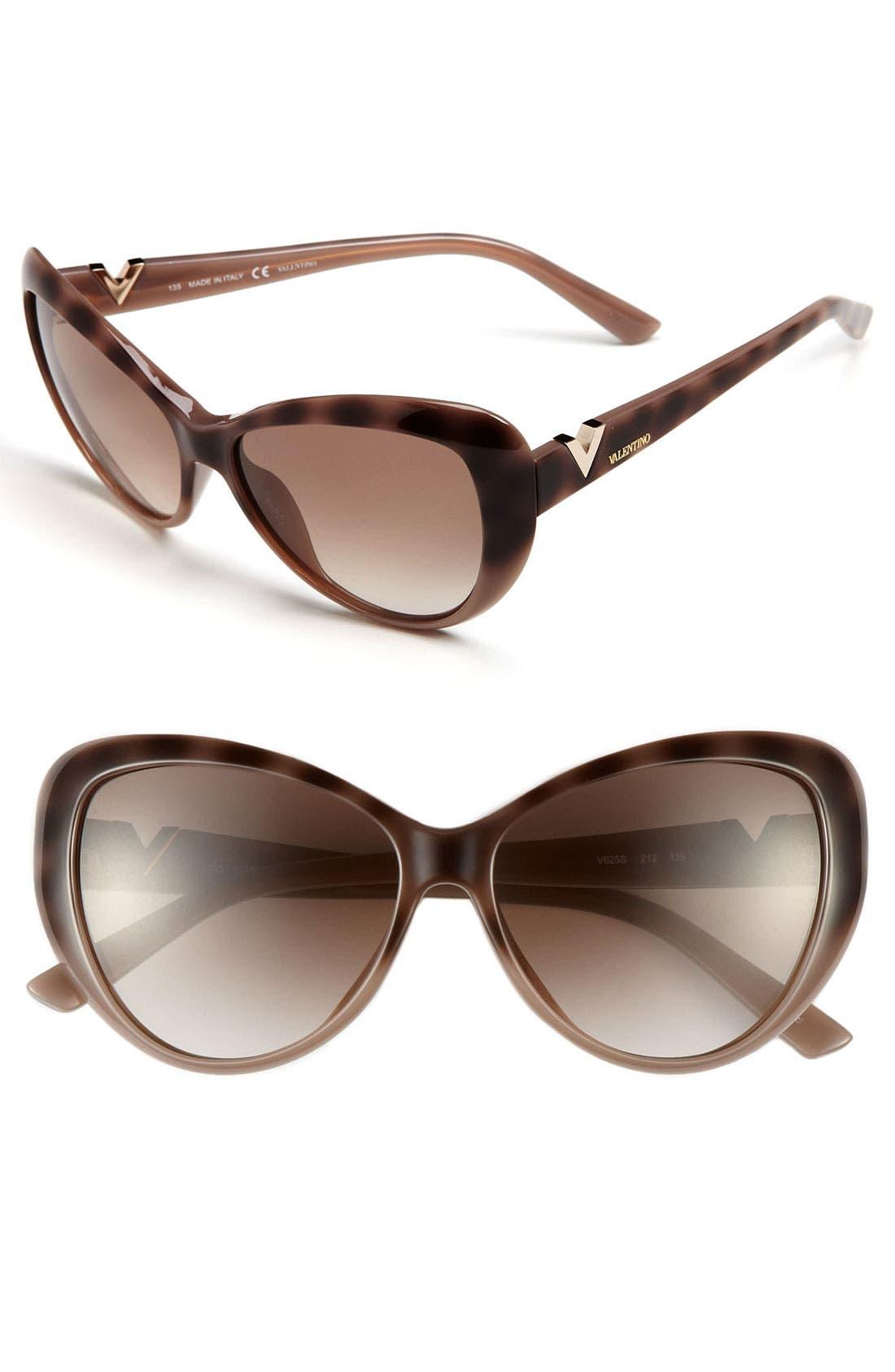 Main Image - Valentino Cat Eye Sunglasses